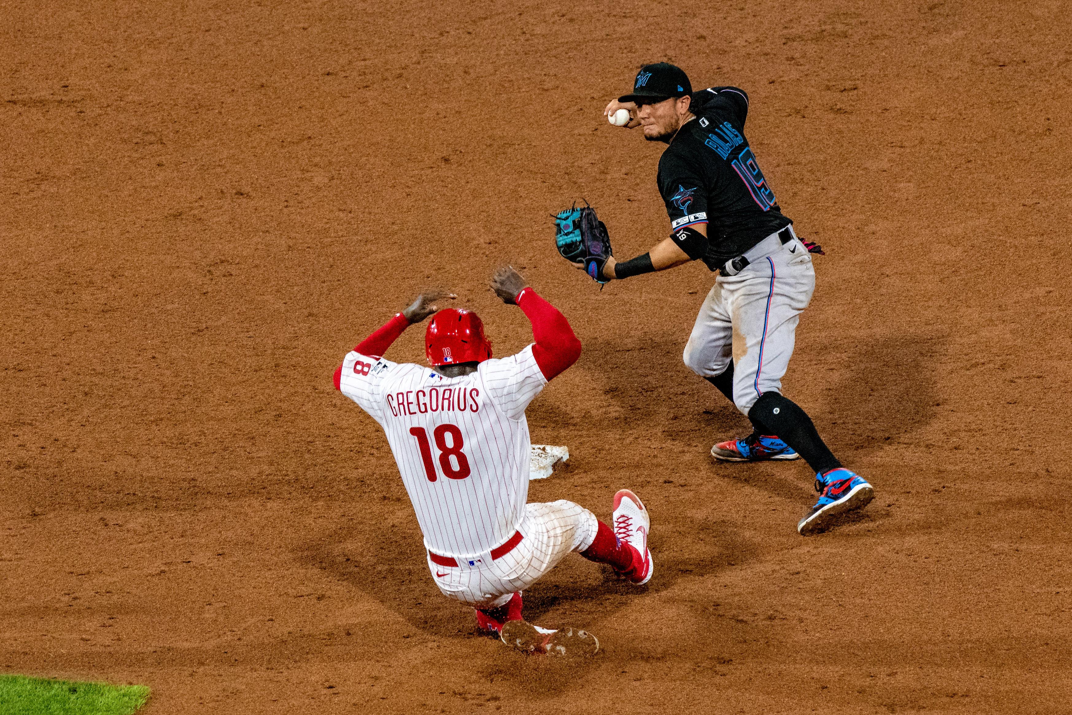 MLB: JUL 24 Marlins at Phillies