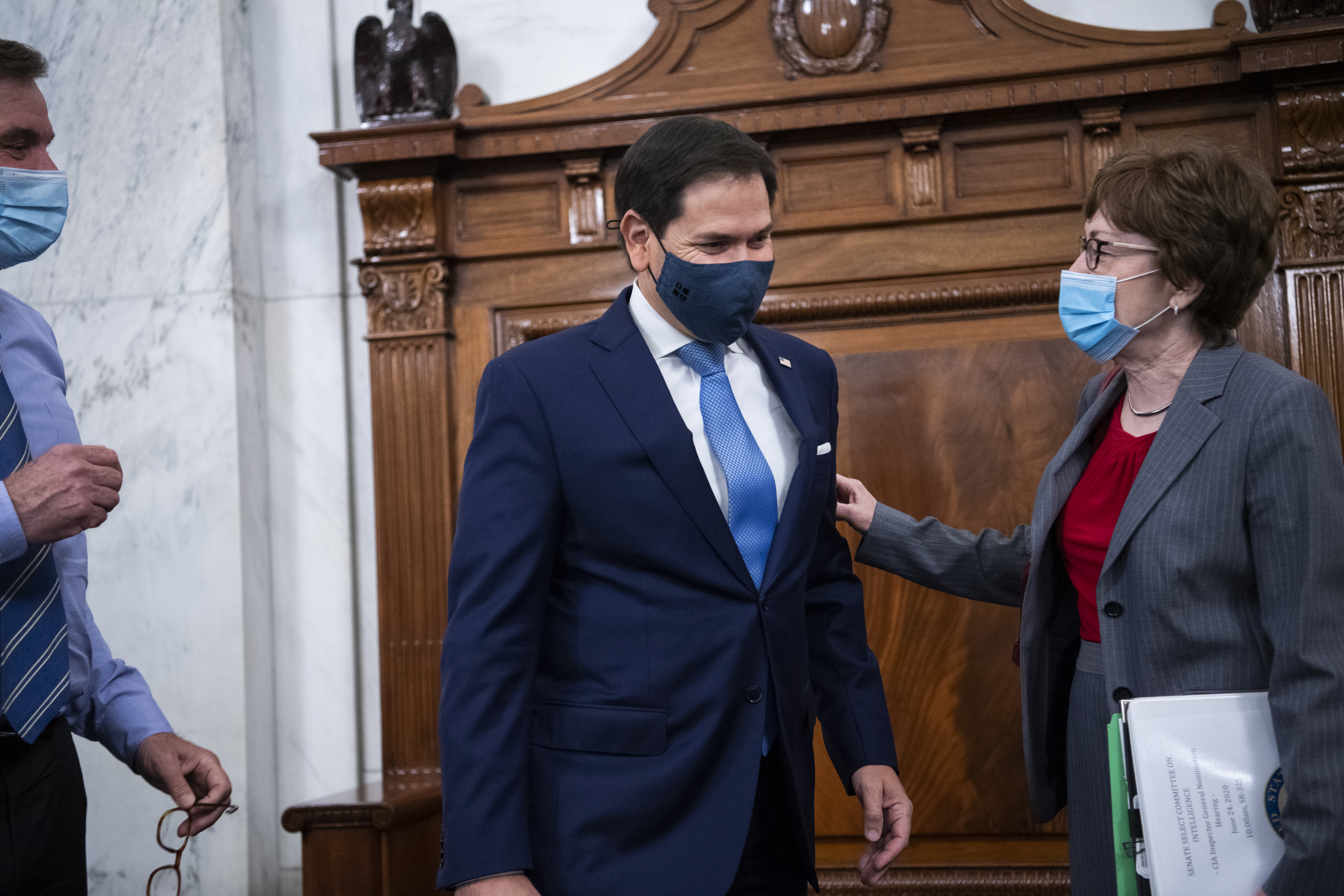 Marco Rubio and Susan Collins