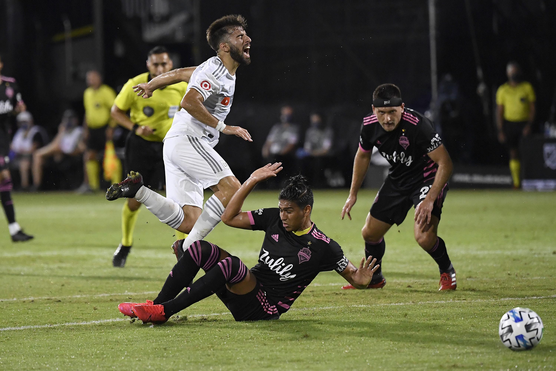 西雅图海湾FC对洛杉矶FC:八分之一决赛 -  MLS回来锦标赛