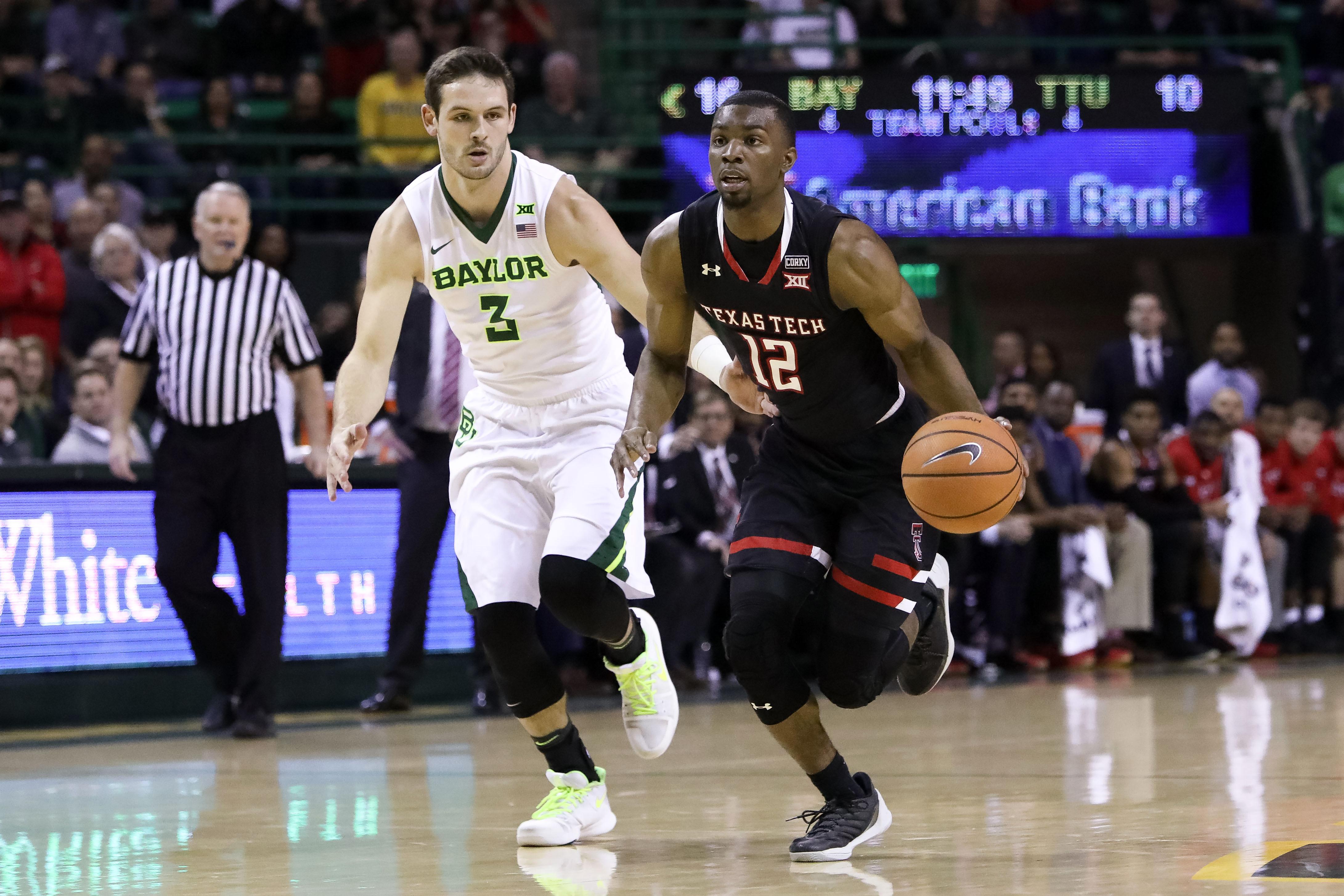NCAA Basketball: Texas Tech at Baylor