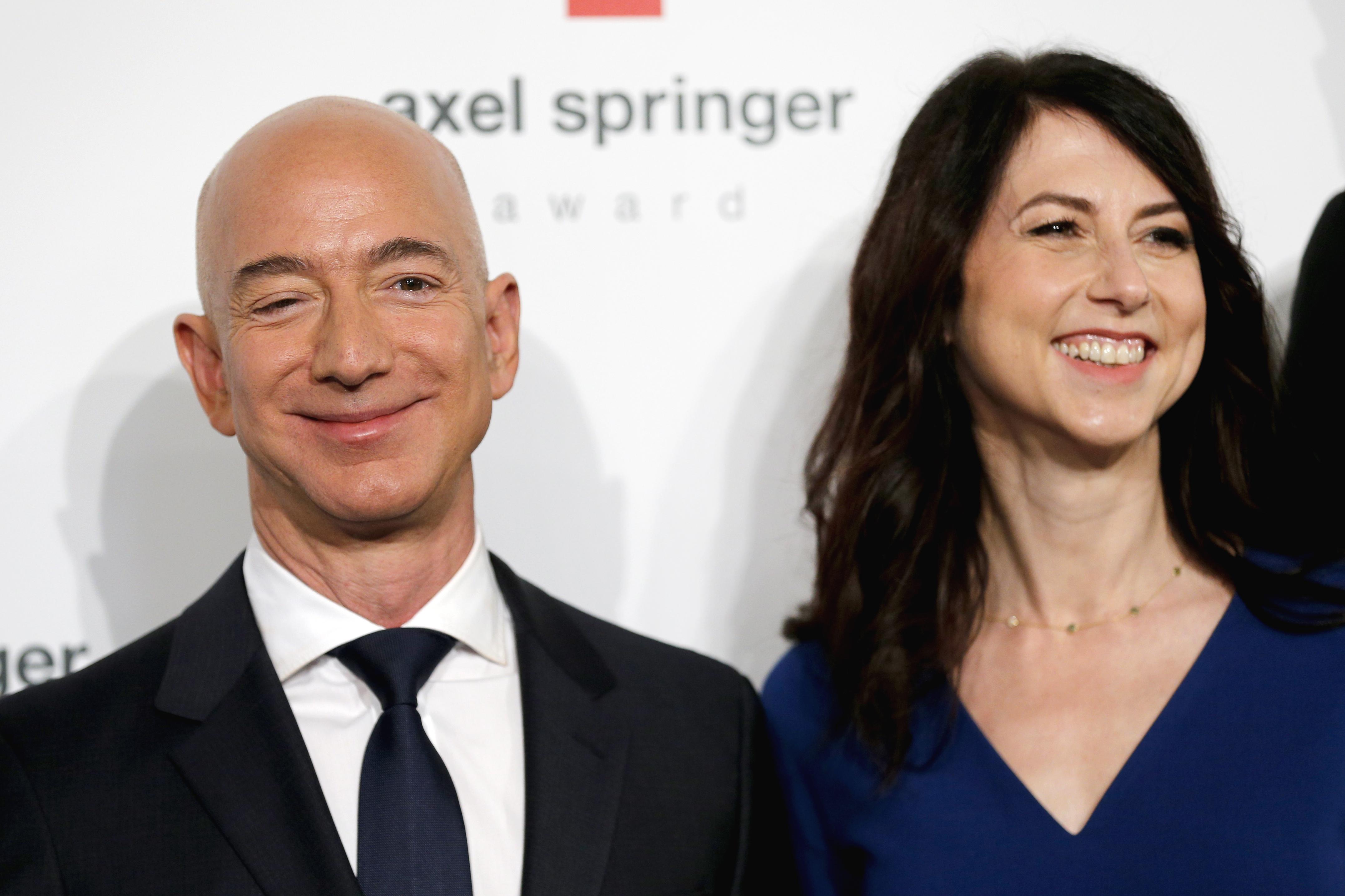 Jeff Bezos Awarded With Axel Springer Award In Berlin