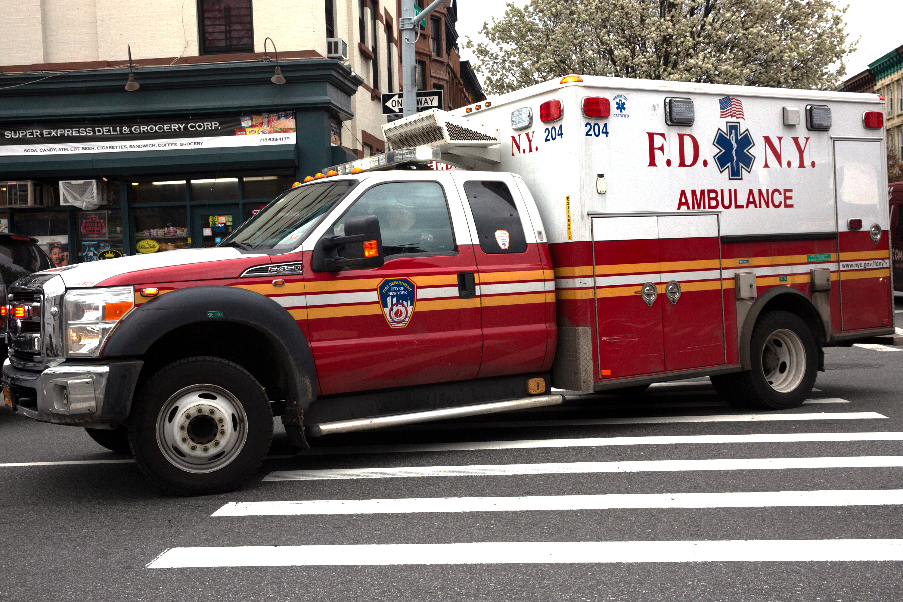 Some New Yorkers are hearing more emergency sirens again.