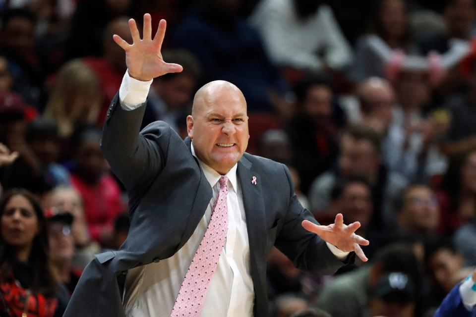 Even though Bulls coach Jim Boylen doesn't appear to have the full support of some of his players, the front office hasn't made a change.