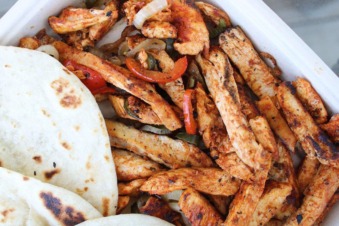 Fajitas from Burritos, Fajitas, and 'Ritas