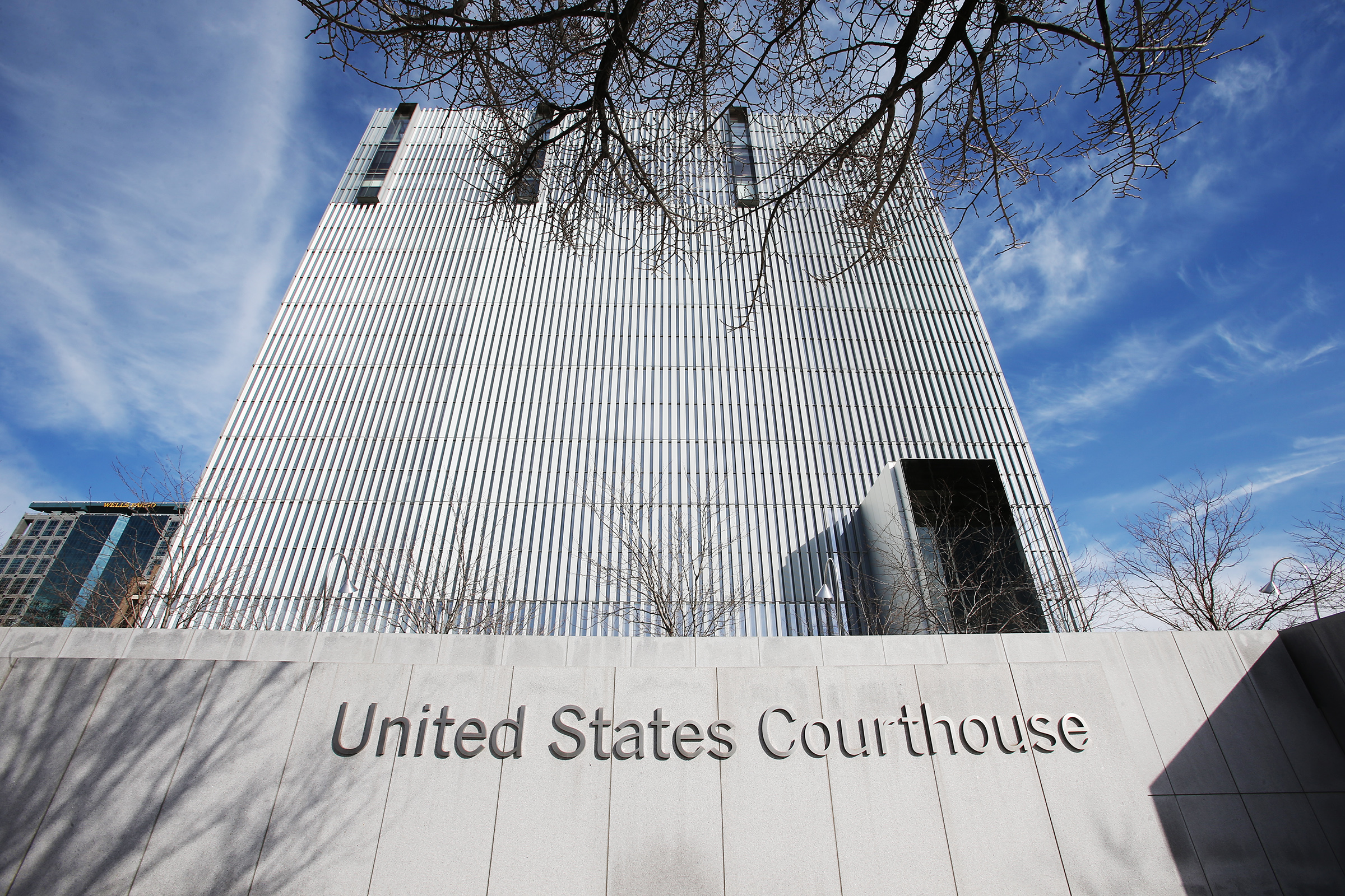 The federal courthouse in Salt Lake City is pictured on Tuesday, Feb. 18, 2020.