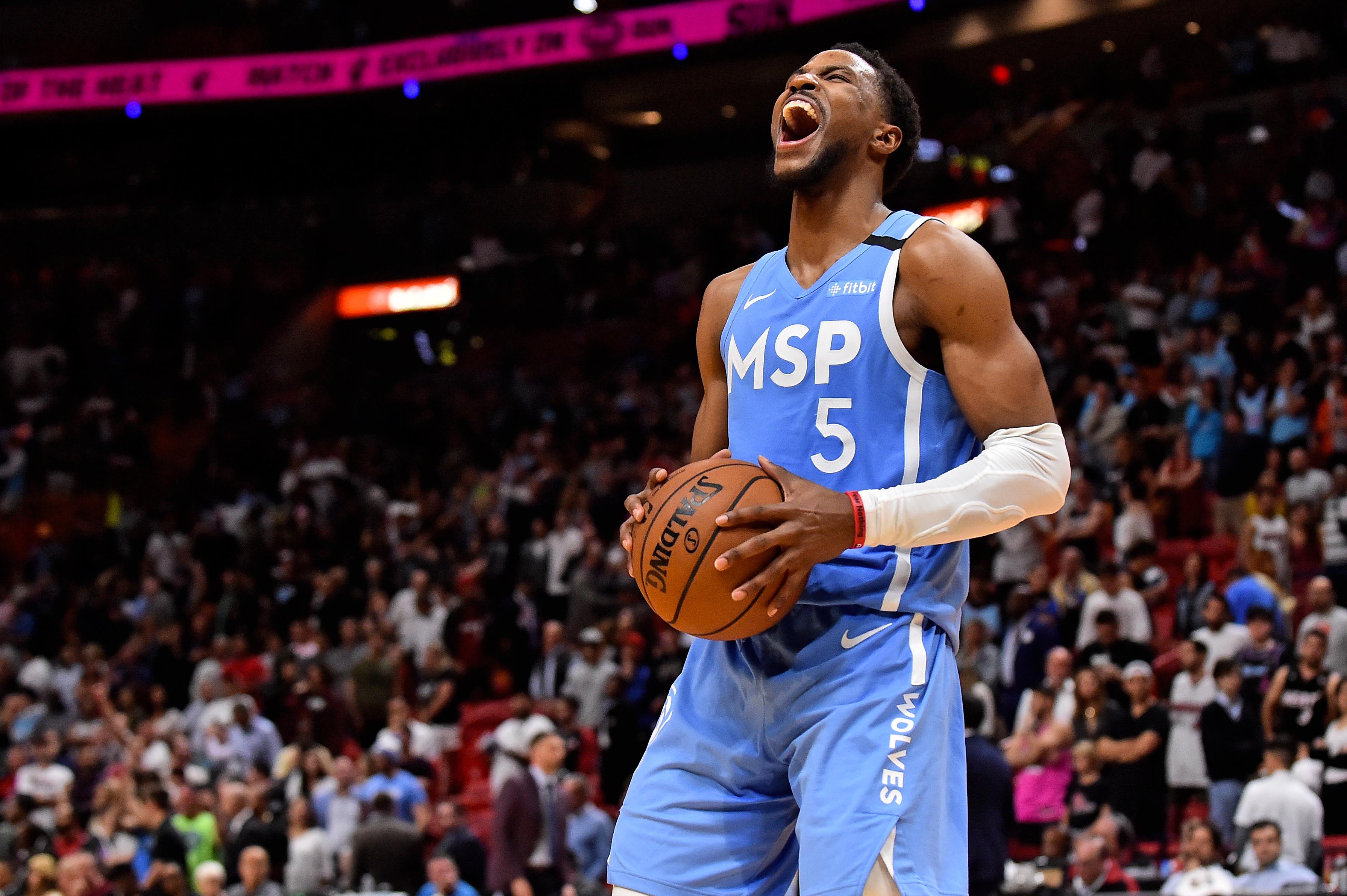 NBA: Minnesota Timberwolves at Miami Heat
