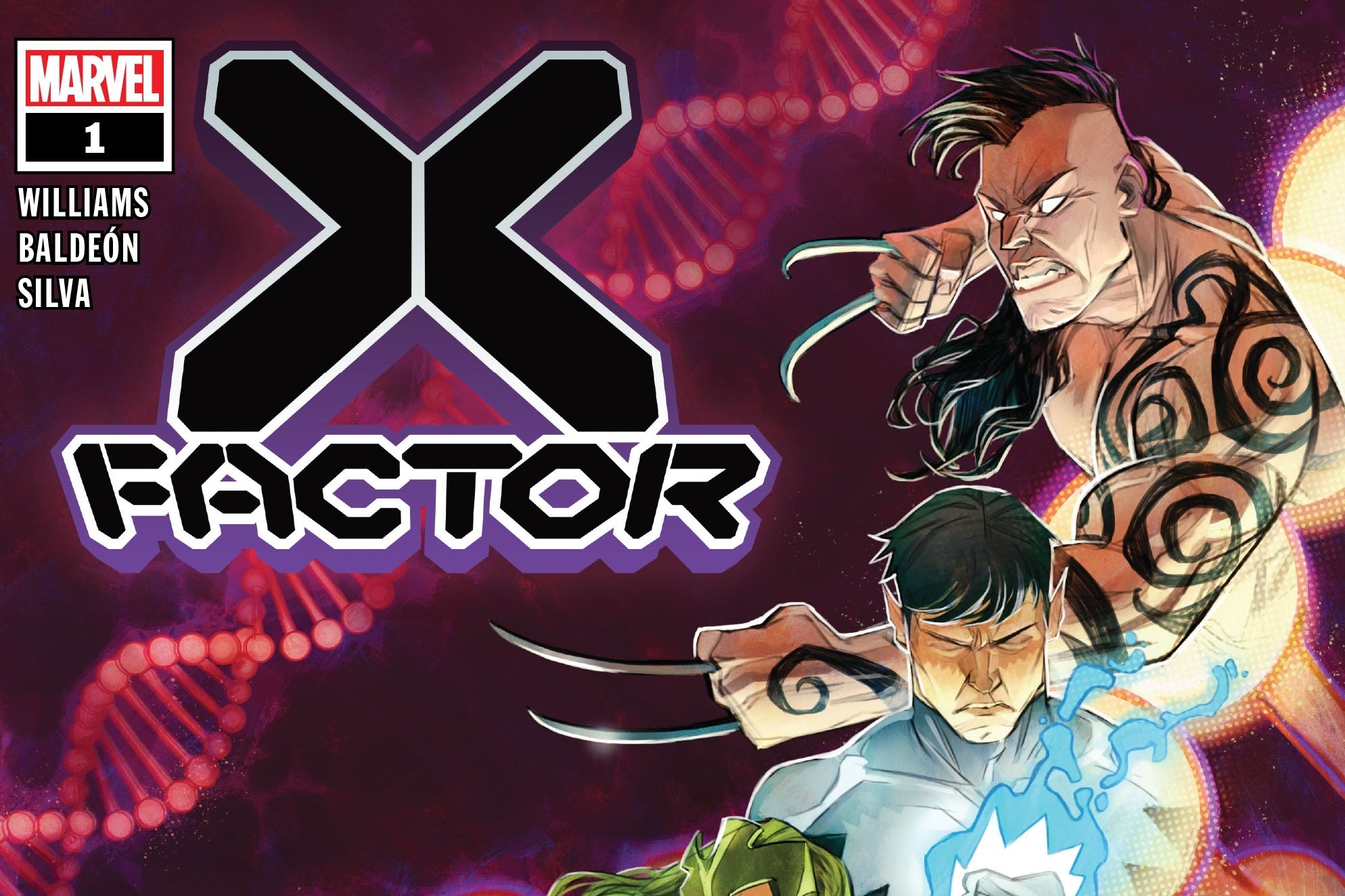 Daken and Northstar on the cover of X-Factor #1, Marvel Comics (2020).