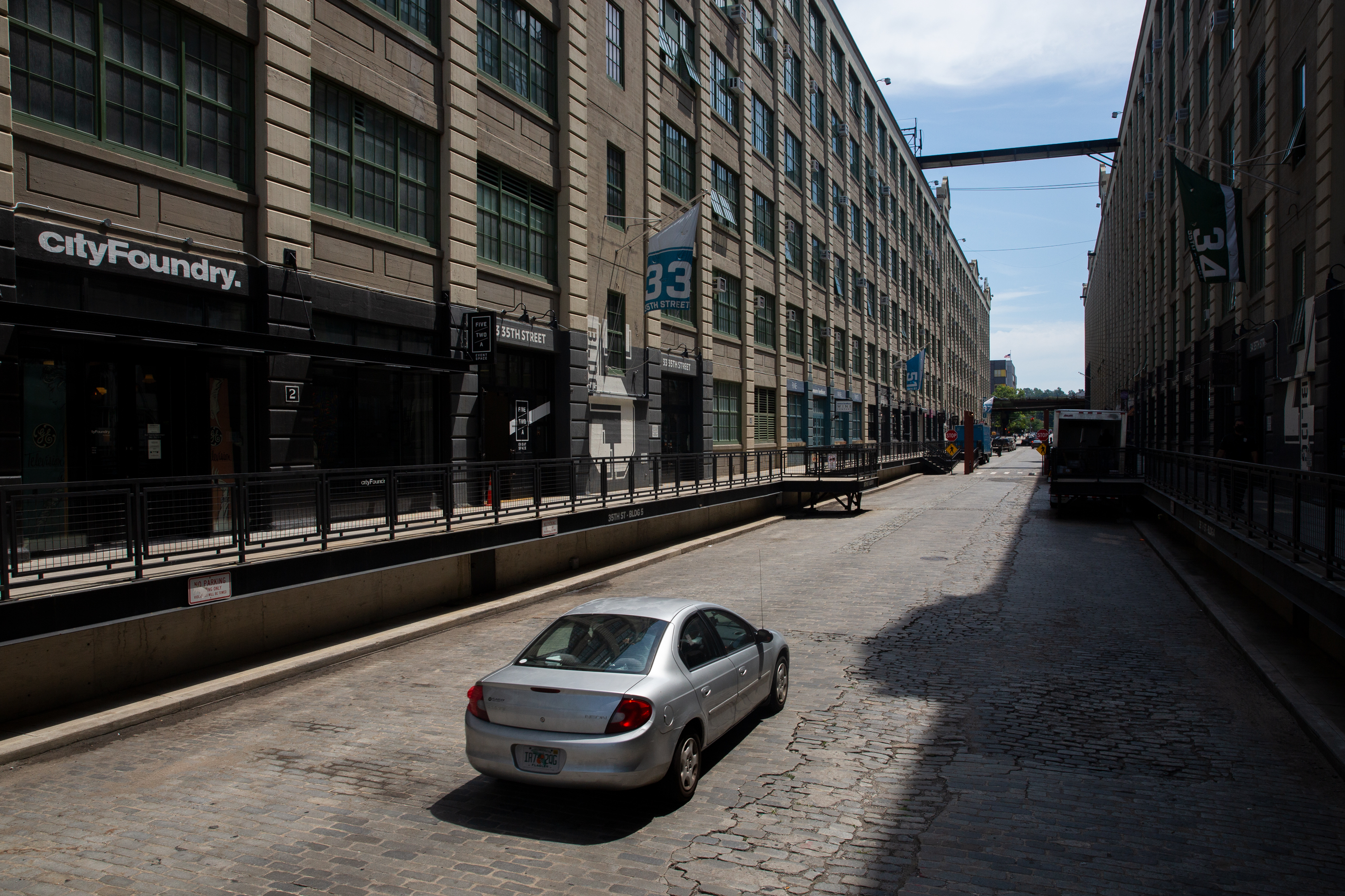 Warehouses in Brooklyn's Industry City, July 30, 2020.