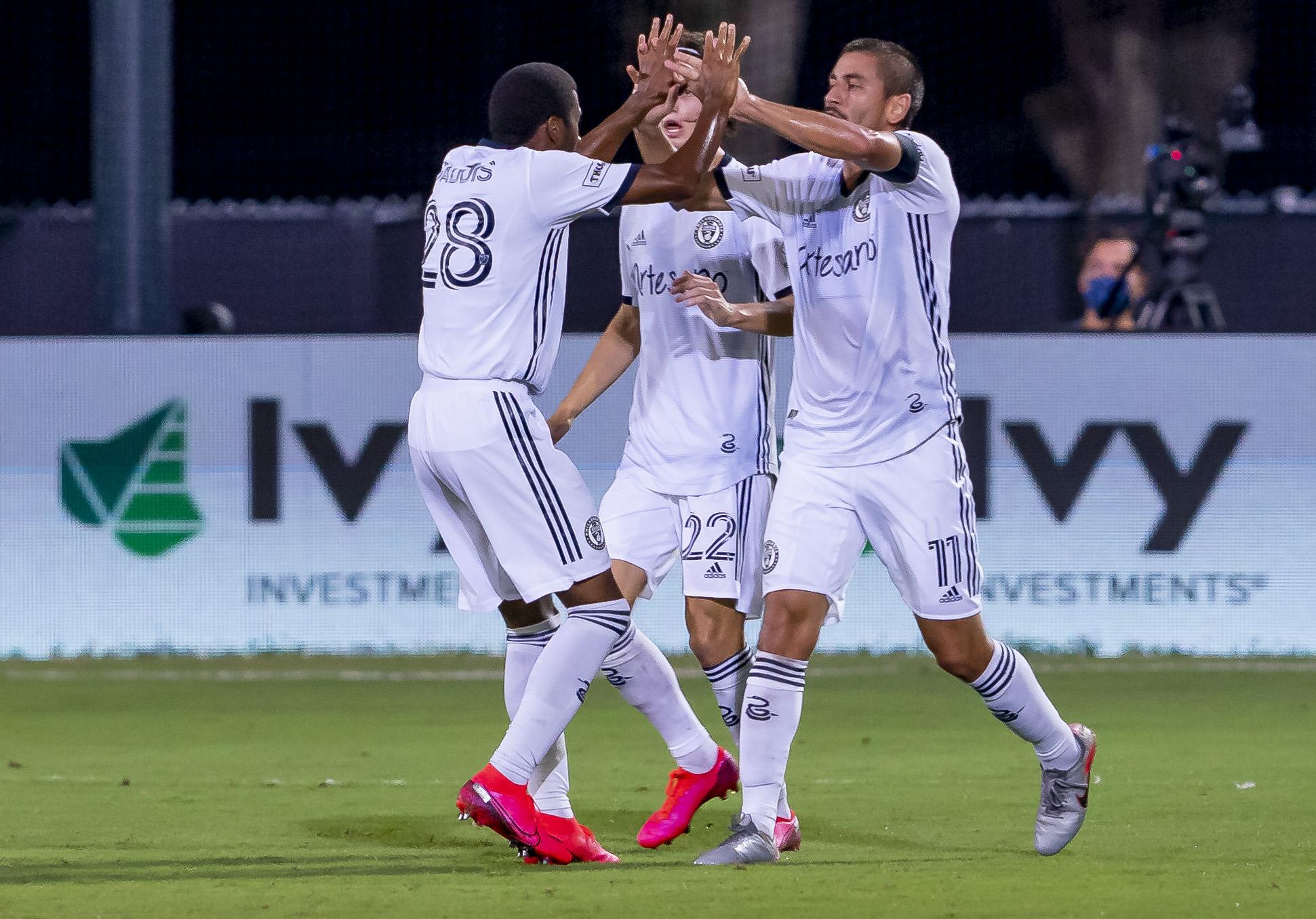 足球:7月30日MLS是回到四分之一决赛 - 费城工会诉堪萨斯城体育会