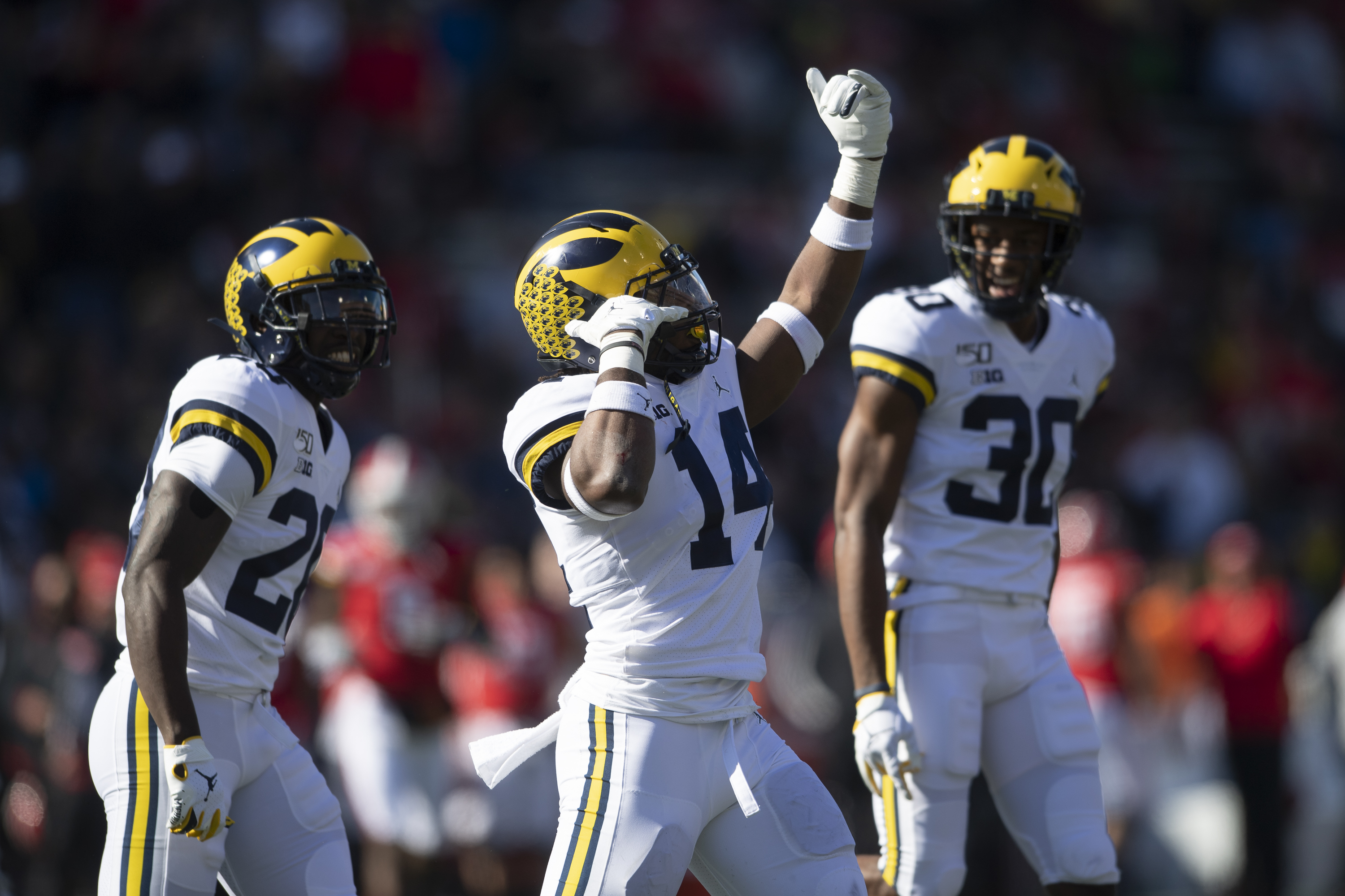 NCAA Football: Michigan at Maryland