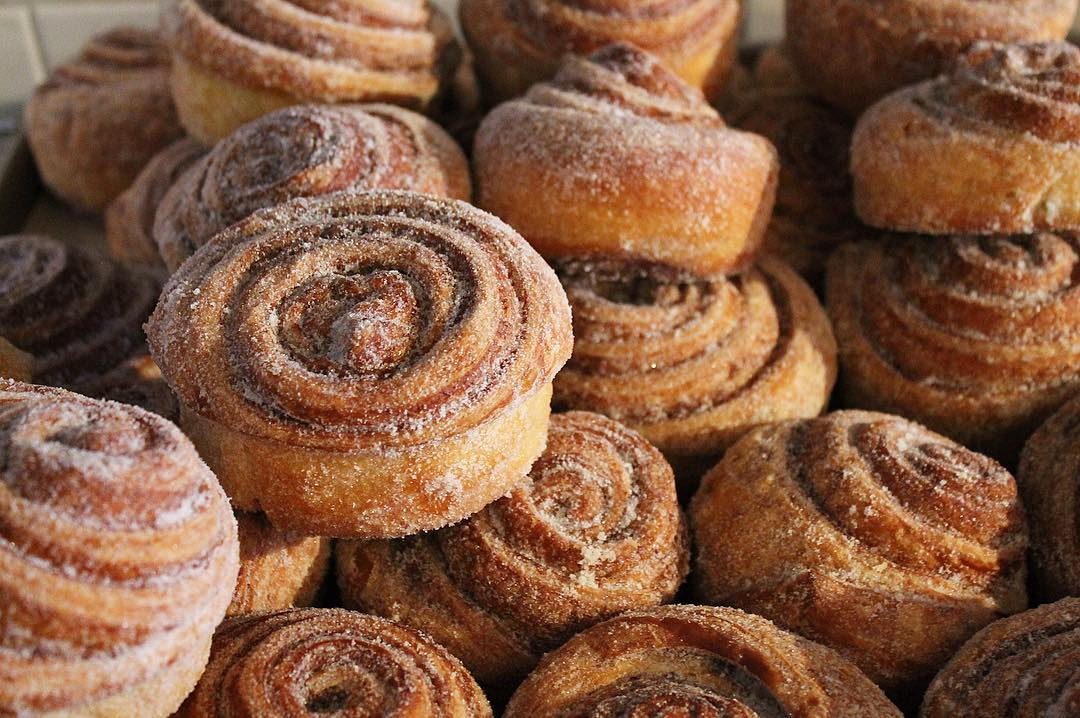 Morning buns at Mayfield Bakery & Cafe