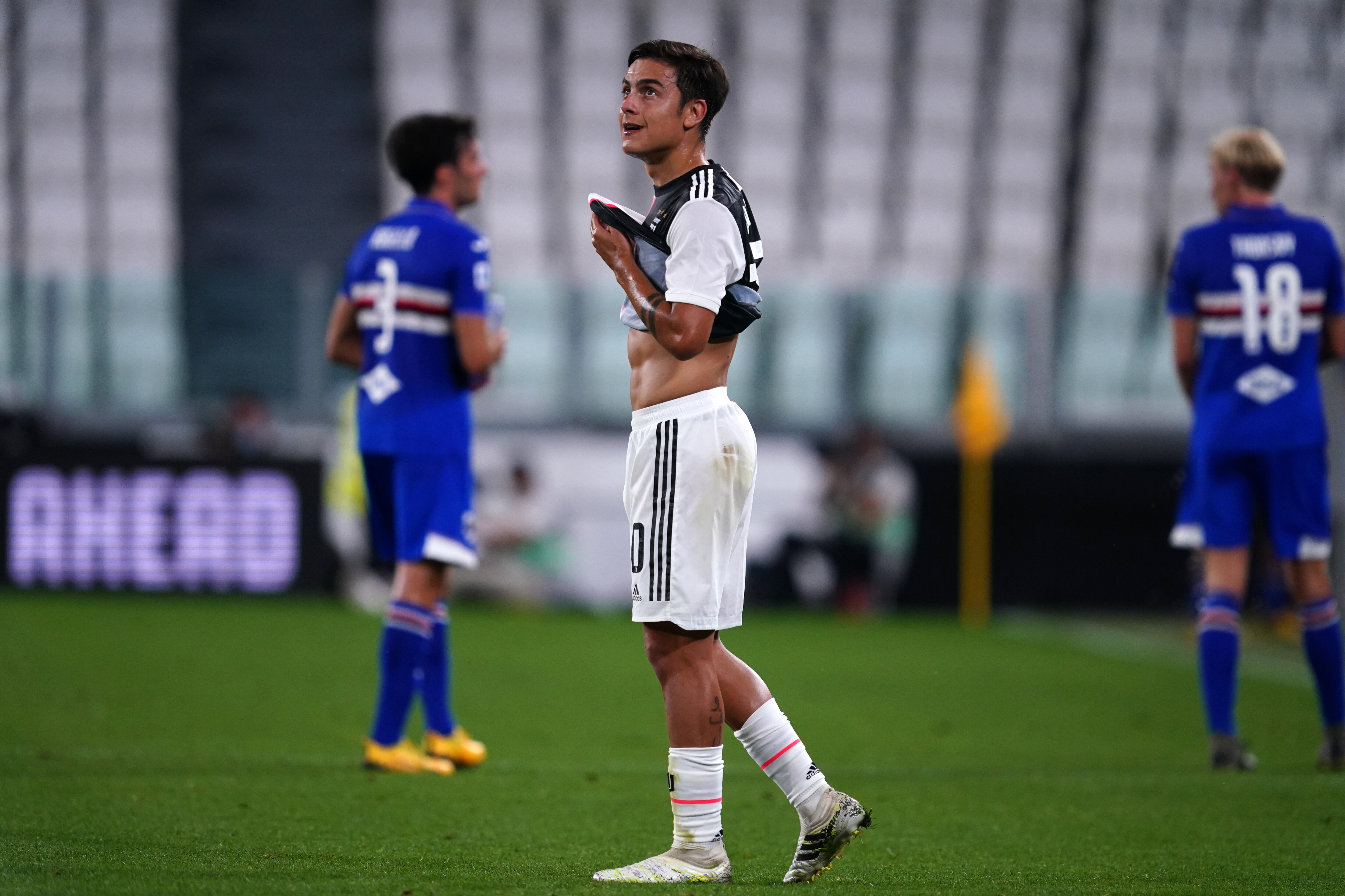 Paulo Dybala of Juventus FC during the Serie A match...