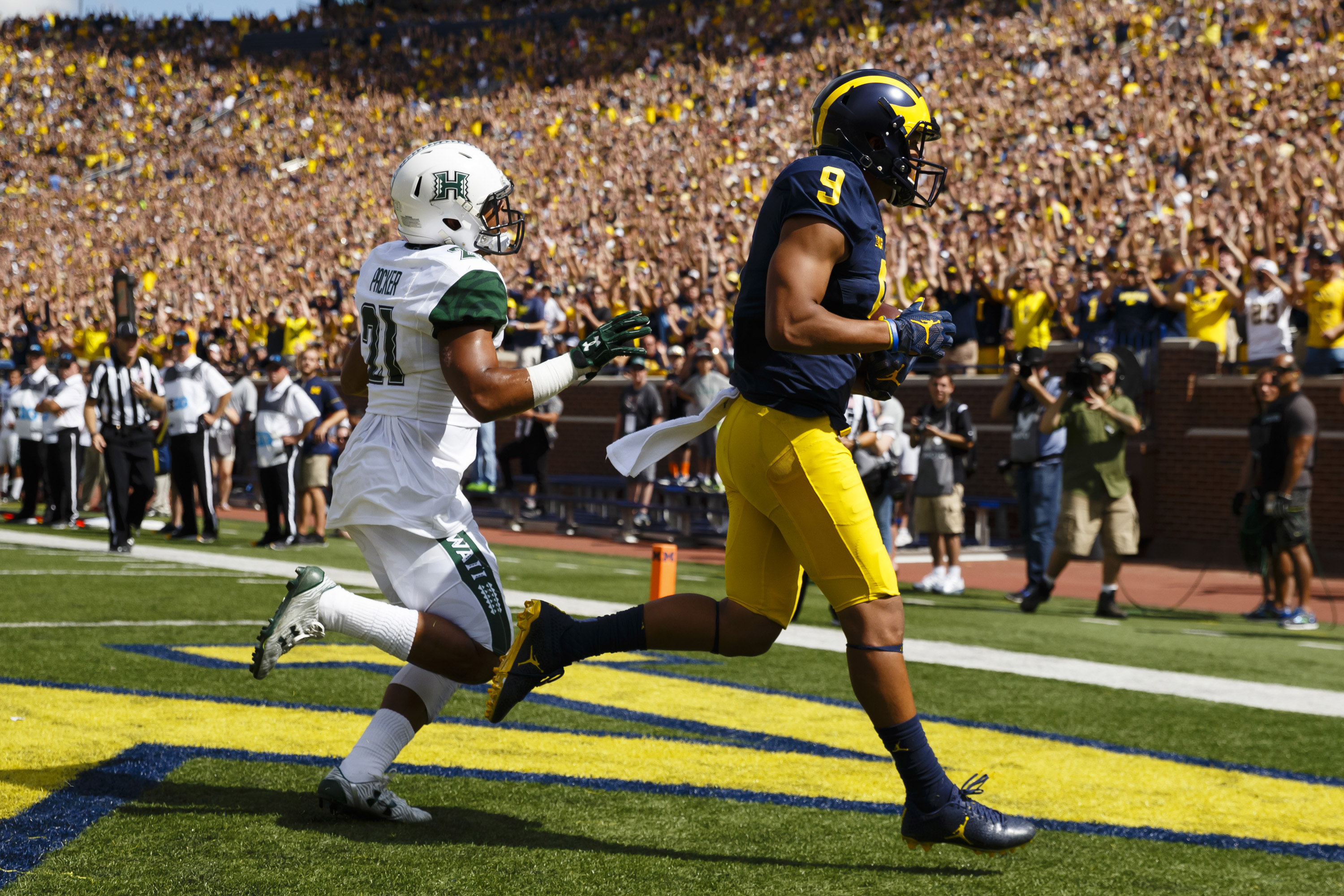 NCAA Football: Hawaii at Michigan