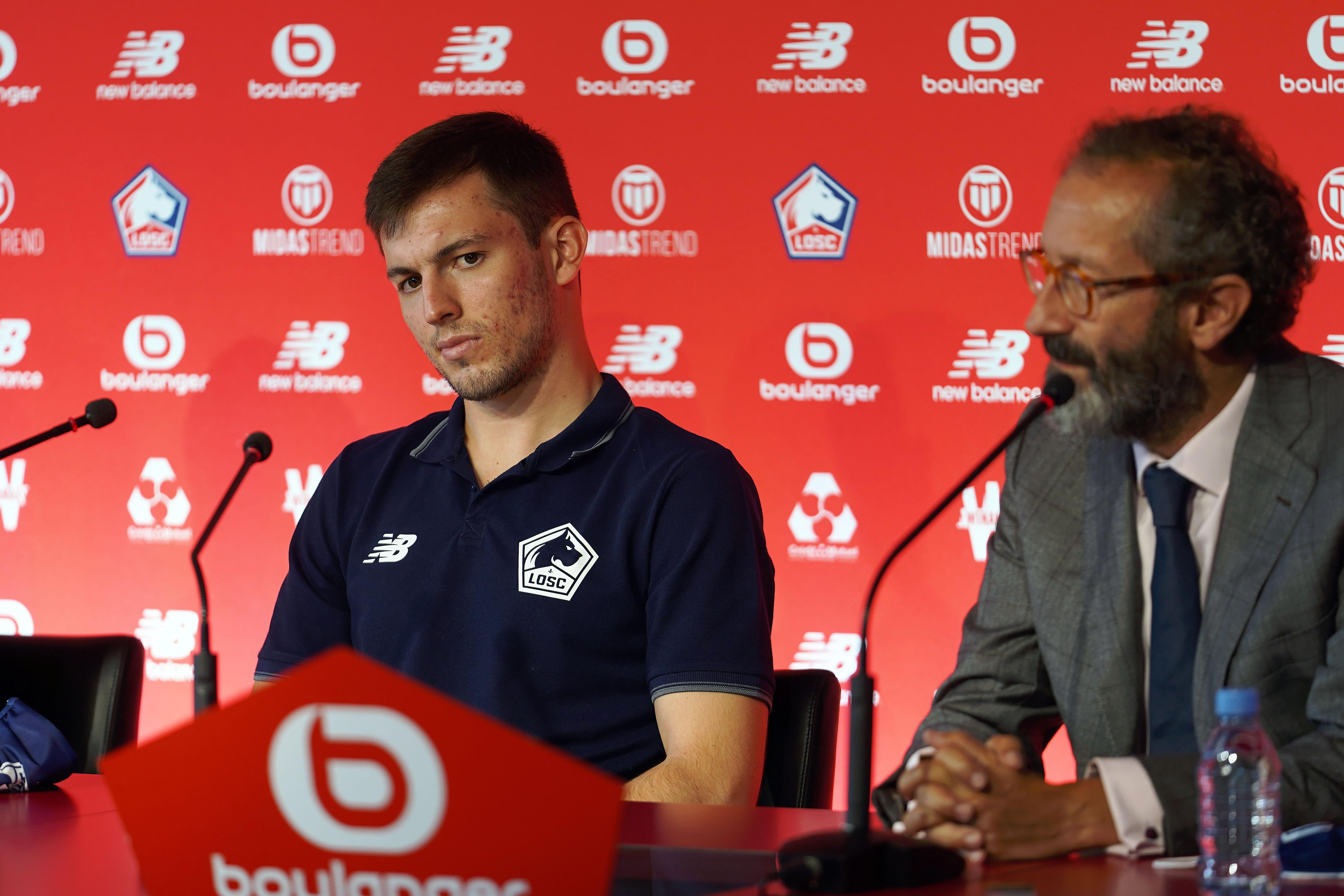 Lille OSC Unveil new signings Sven Botman, Burak Yilmaz and Eugenio Pizzuto