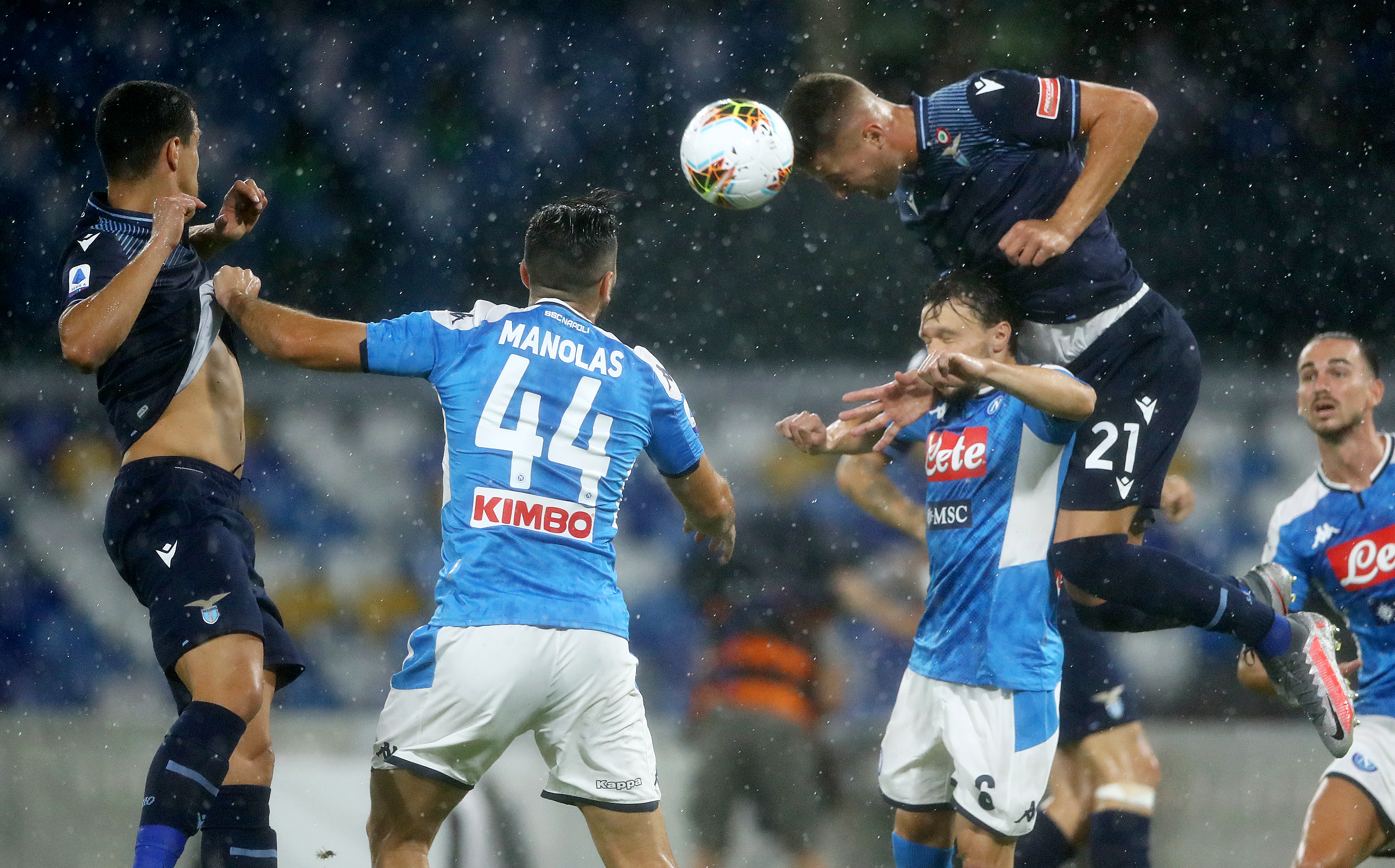SSC Napoli v SS Lazio - Serie A