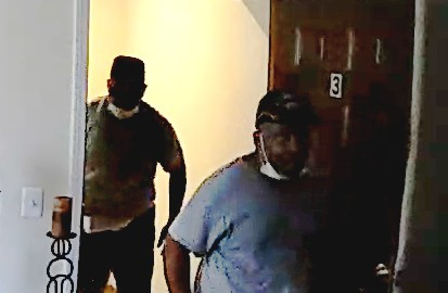 Chicago police released a photo of two men suspected in a series of apartment burglaries since July 8, 2020, in Bronzeville and Kenwood.