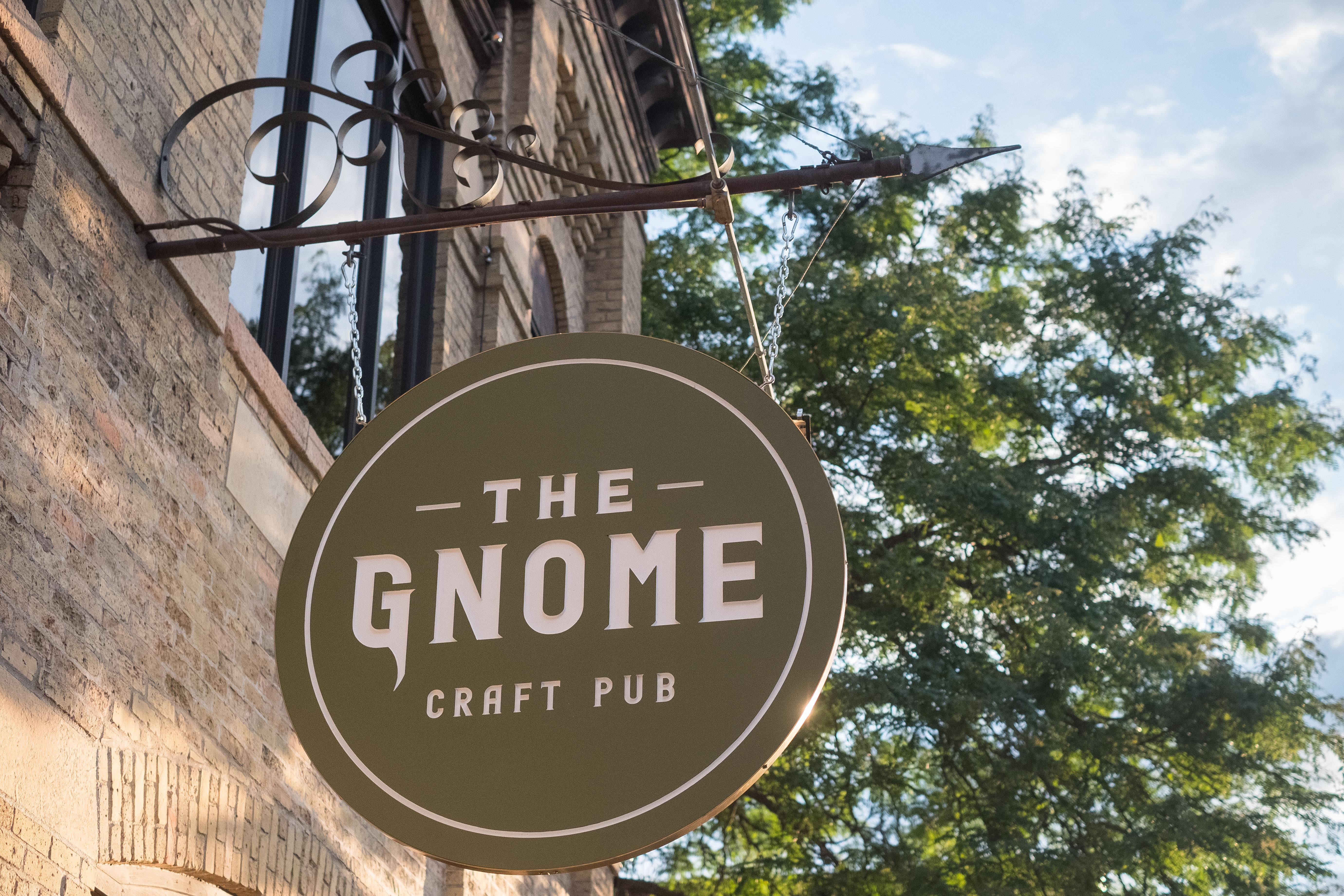The Gnome Pub sign