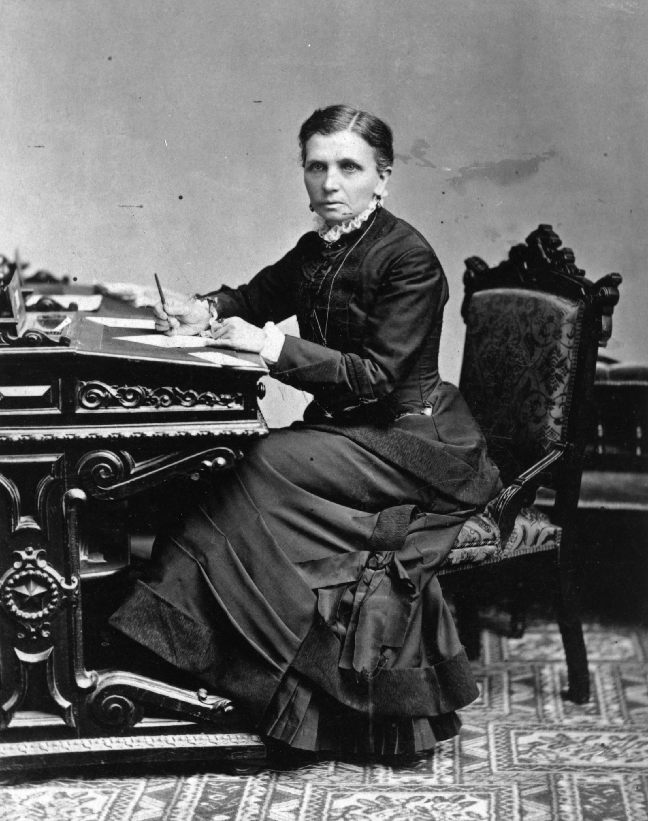 Emmeline B. Wells was a Latter-day Saint leader and women's rights activist.