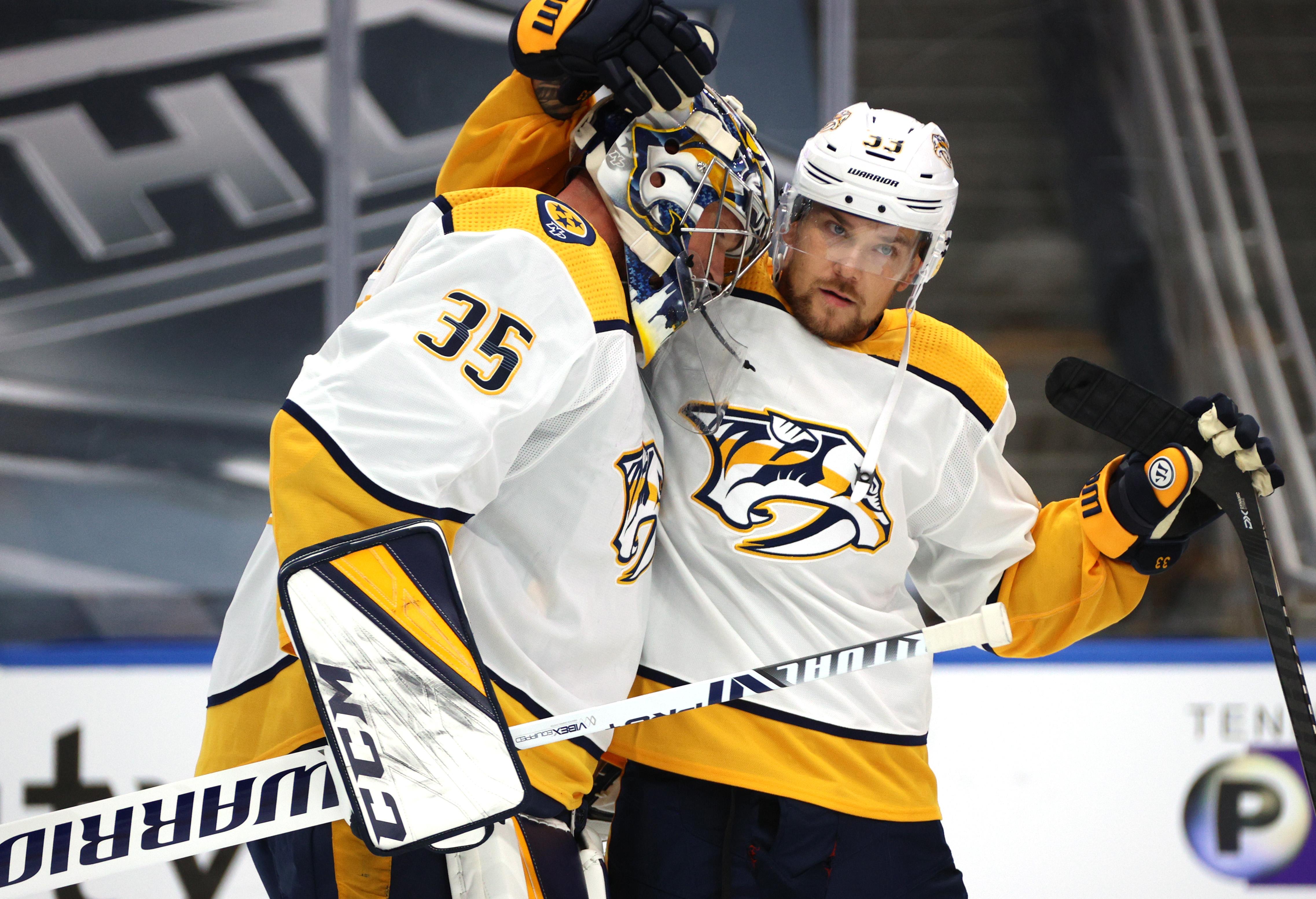 NHL: Exhibition-Nashville Predators vs Dallas Stars