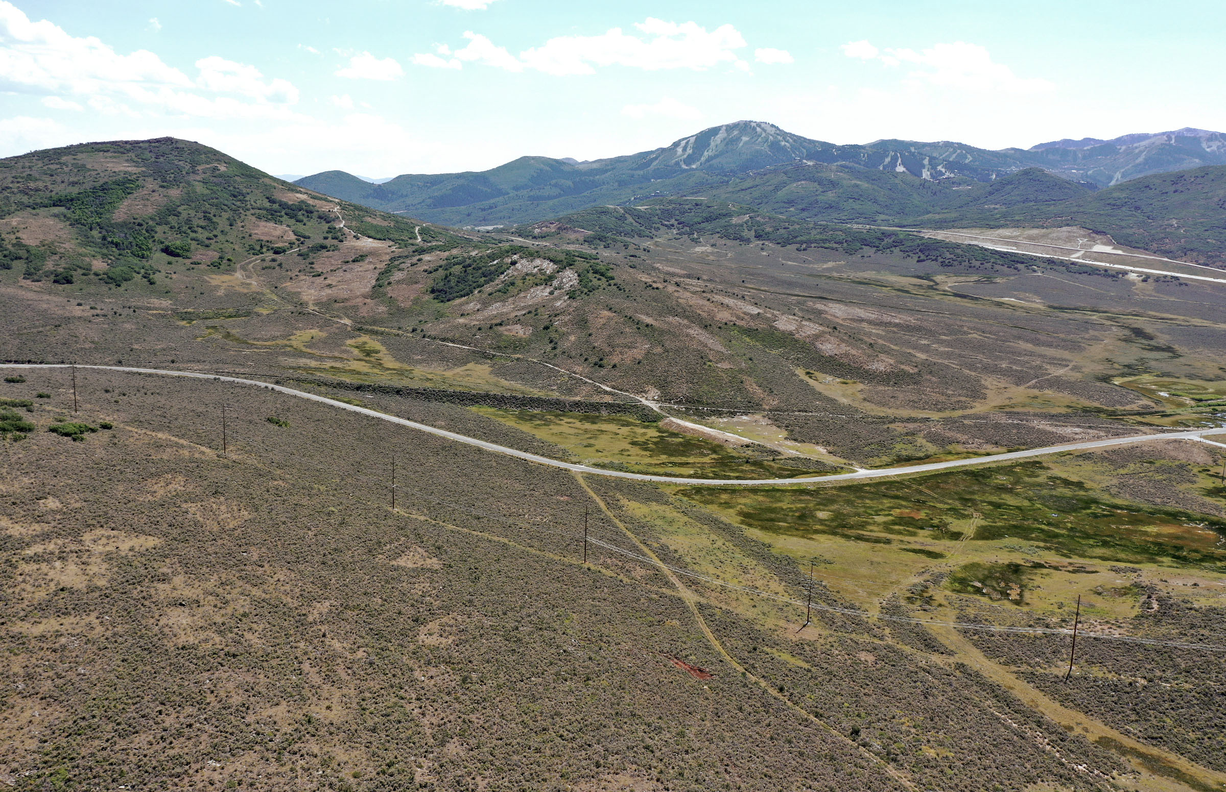 The town of Hideout wants to annex hundreds of acres from Summit County and Wasatch County, including the land pictured in Summit County on Monday, July 20, 2020.