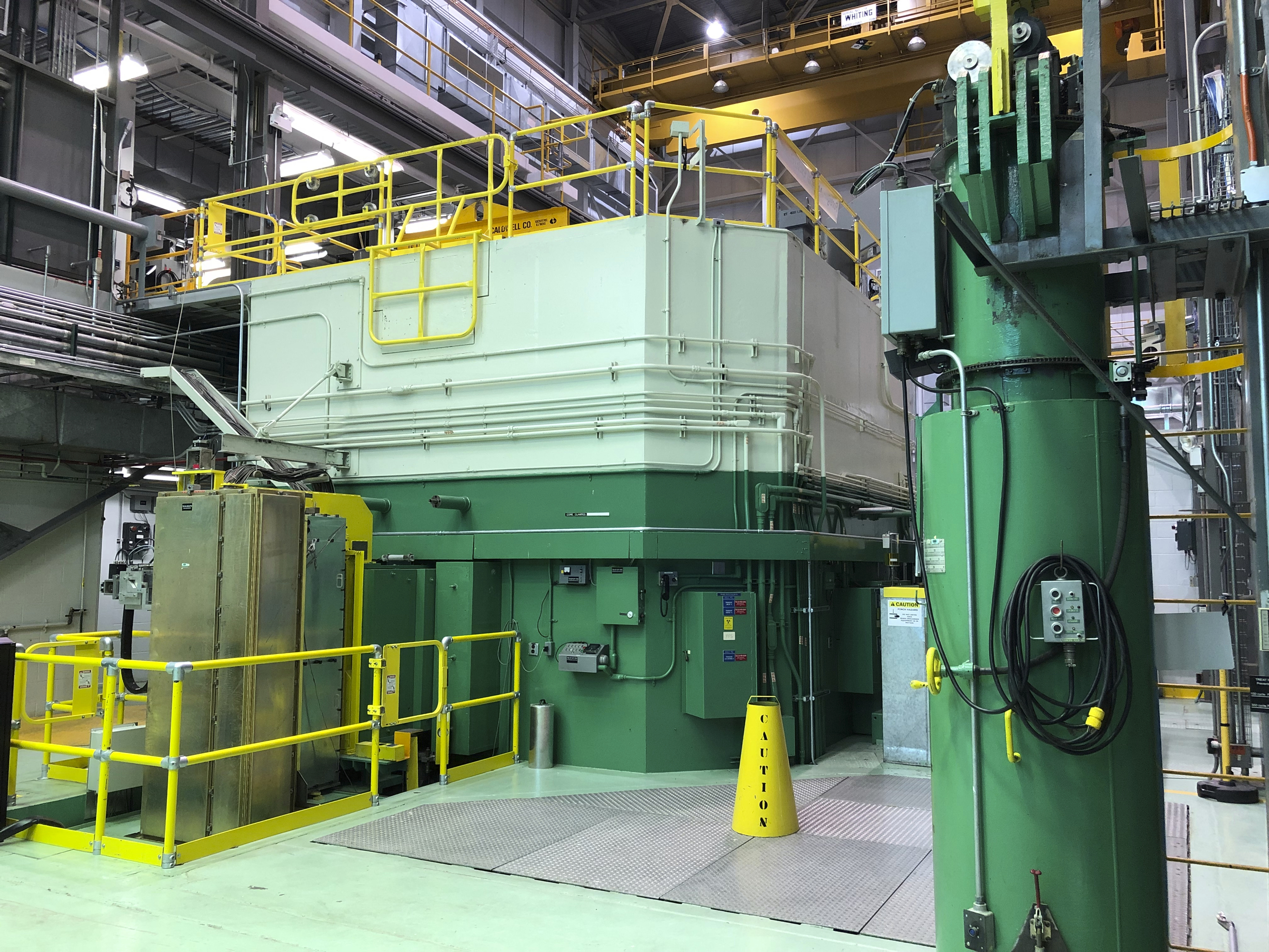 This Nov. 29, 2018 photo shows the Transient Test Reactor at the Idaho National Laboratory about 50 miles west of Idaho Falls, in eastern Idaho.