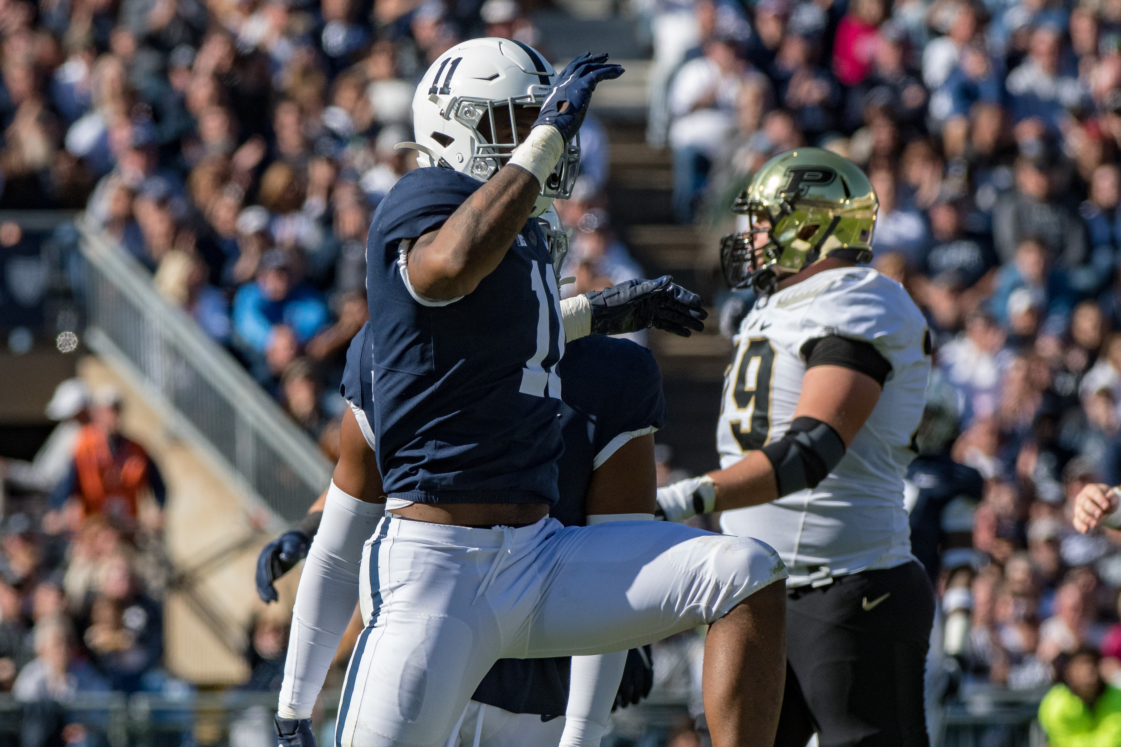 NCAA Football: Purdue at Penn State