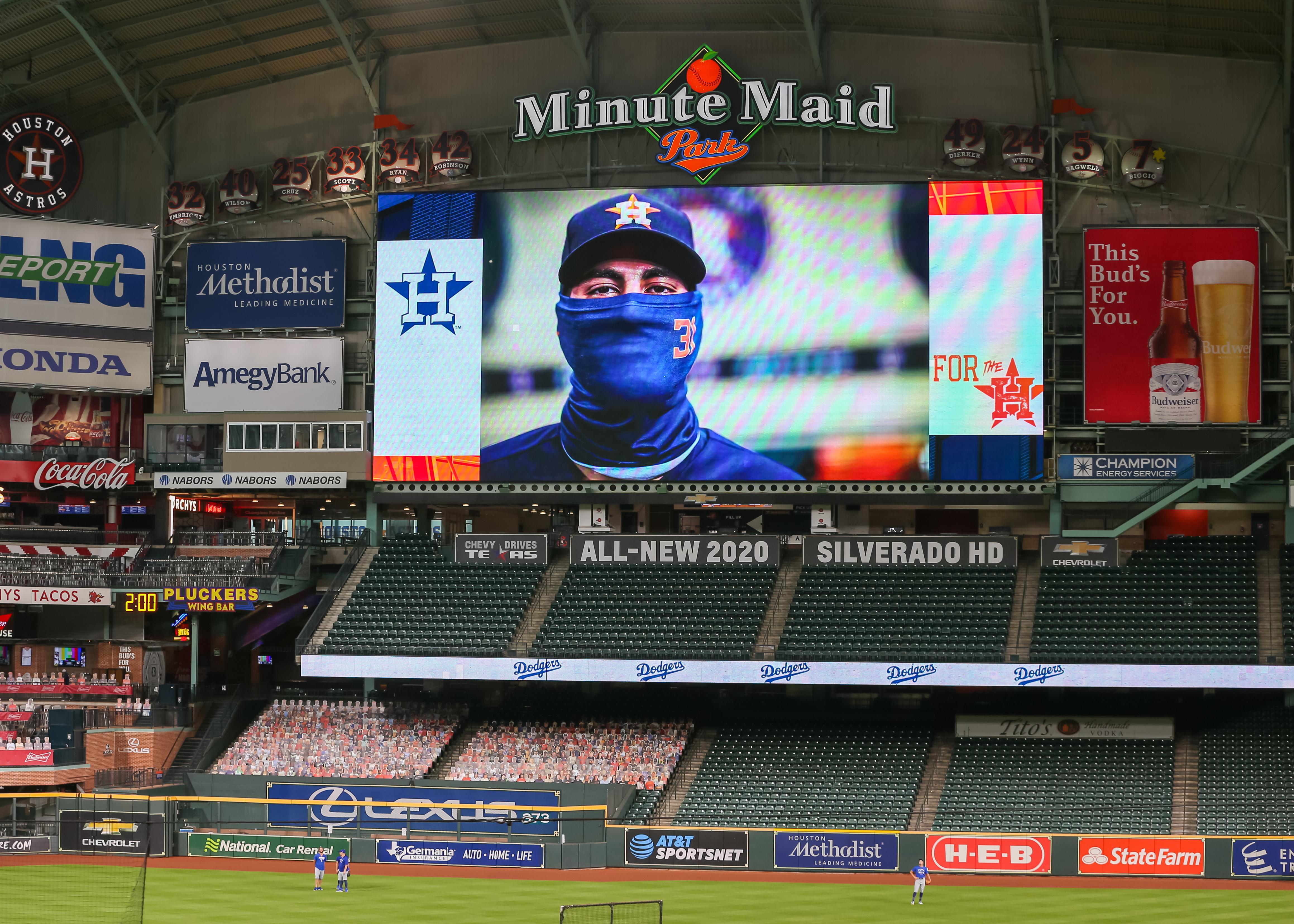 MLB: JUL 28 Dodgers at Astros