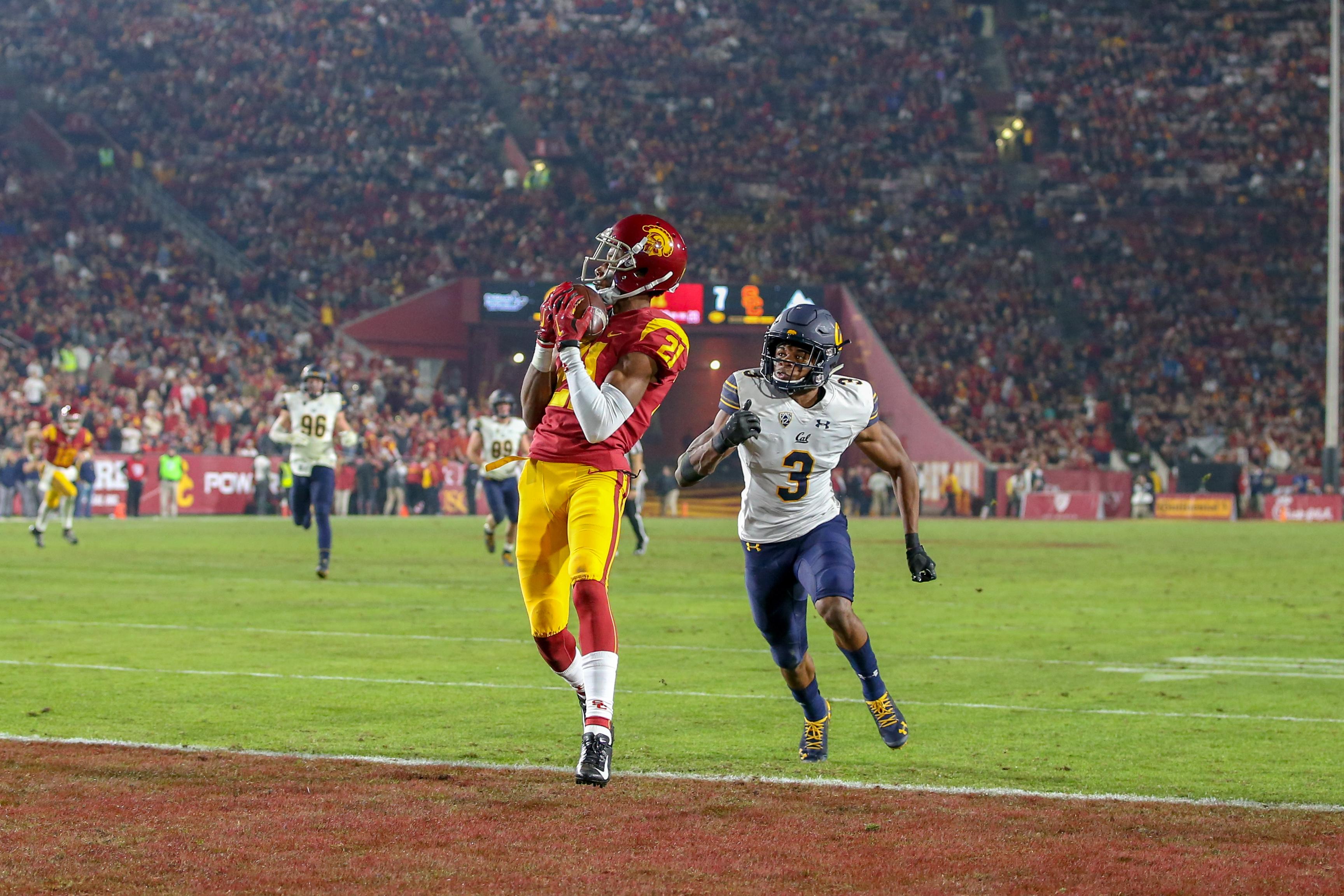 COLLEGE FOOTBALL: NOV 10 Cal at USC