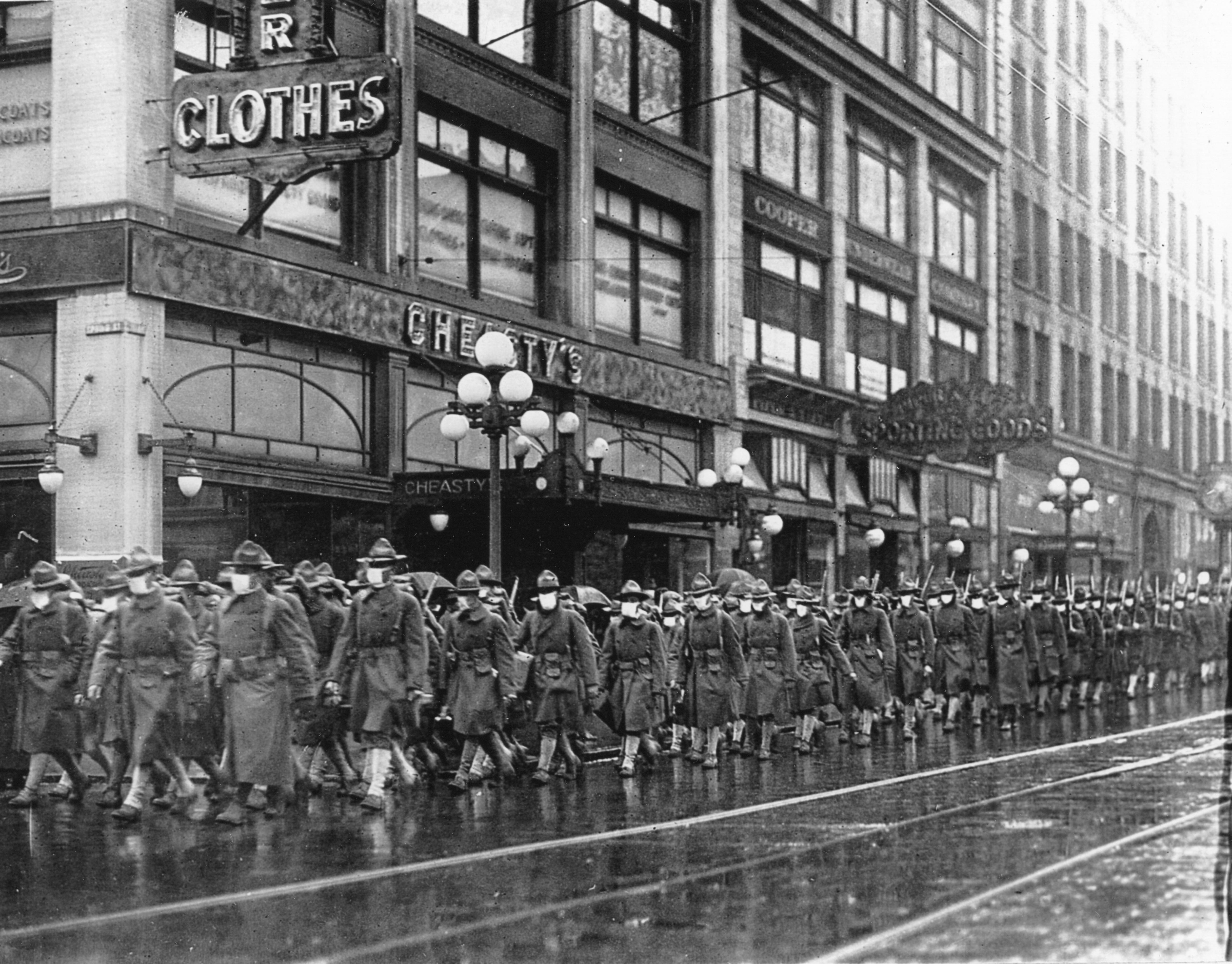 Flu Epidemic - Marching Through Seattle