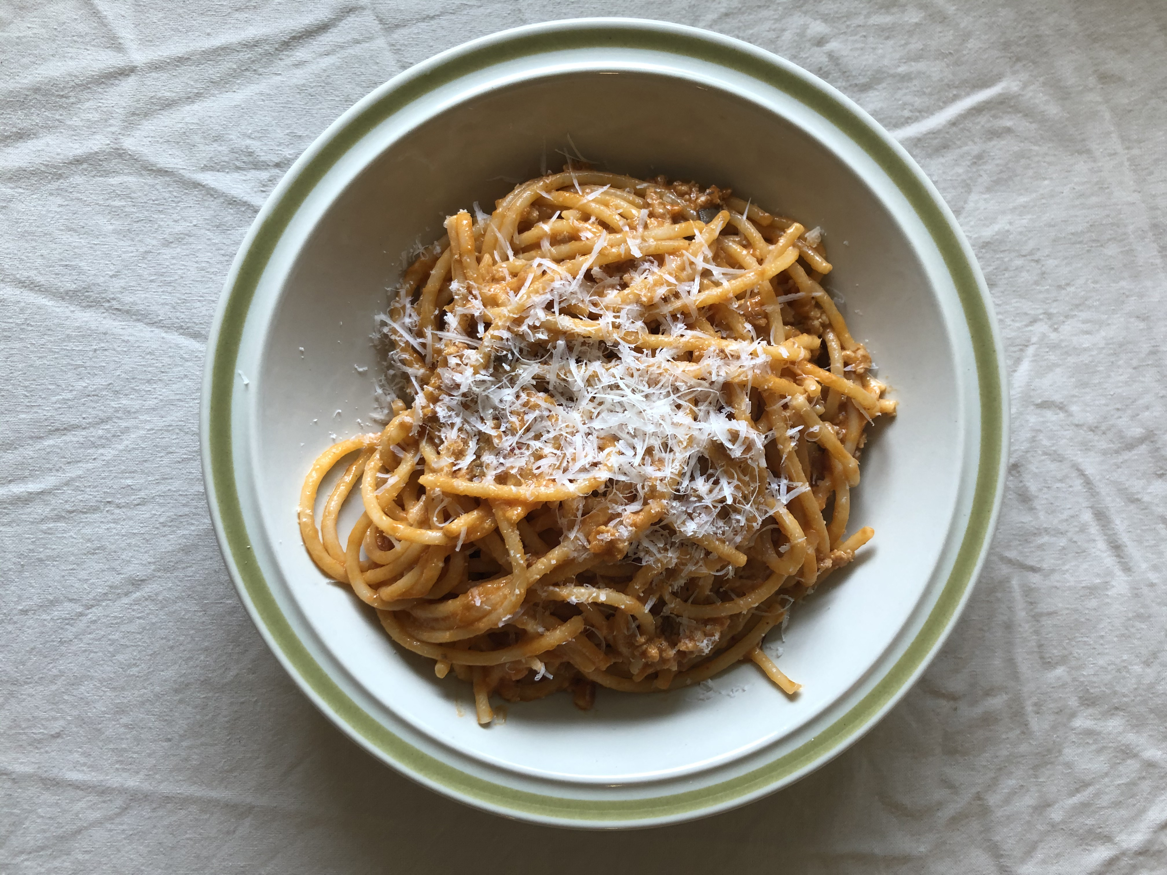 A pasta dish from Le Cowboy