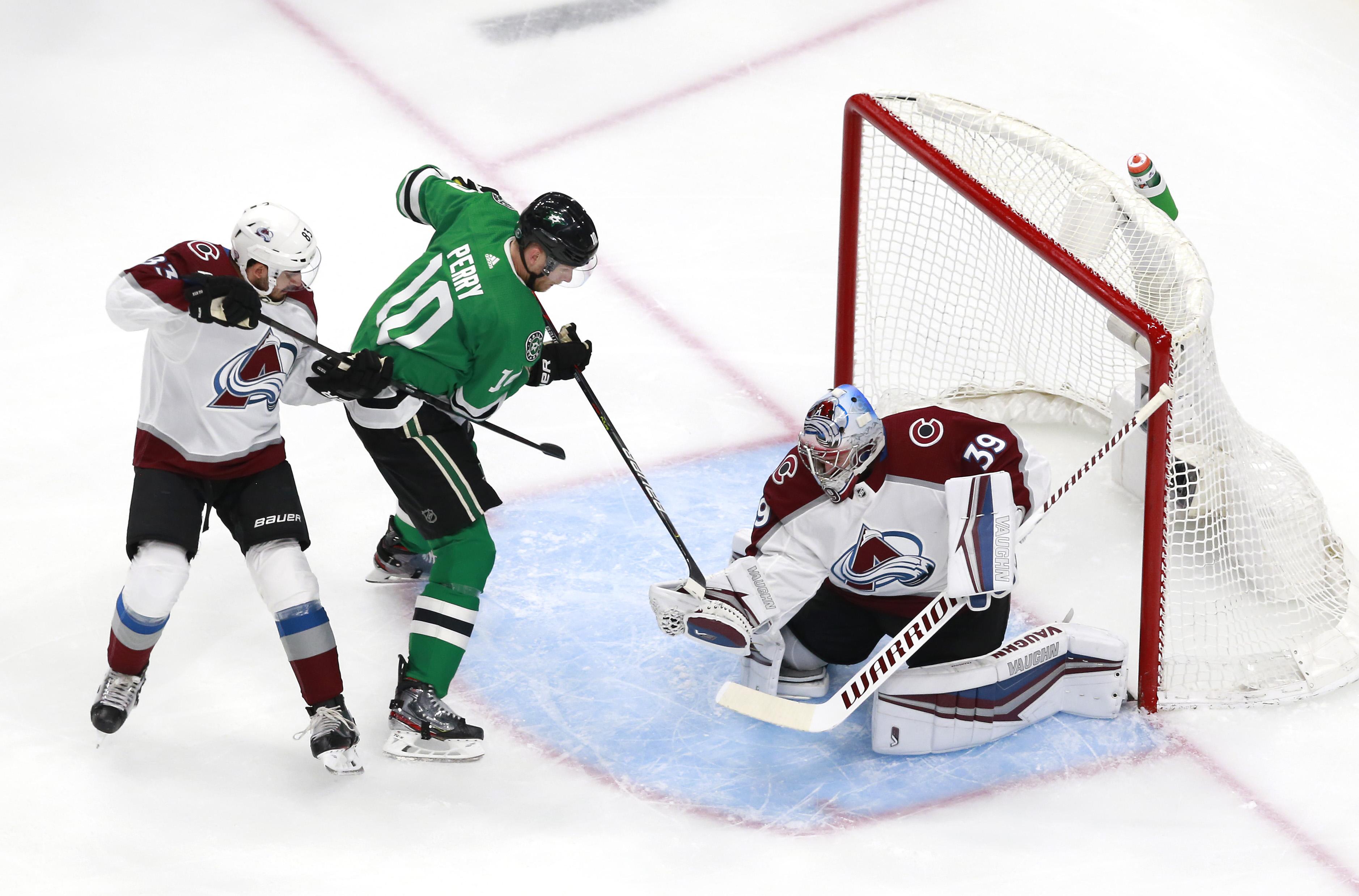 NHL: Western Conference Qualifications-Colorado Avalanche vs Dallas Stars