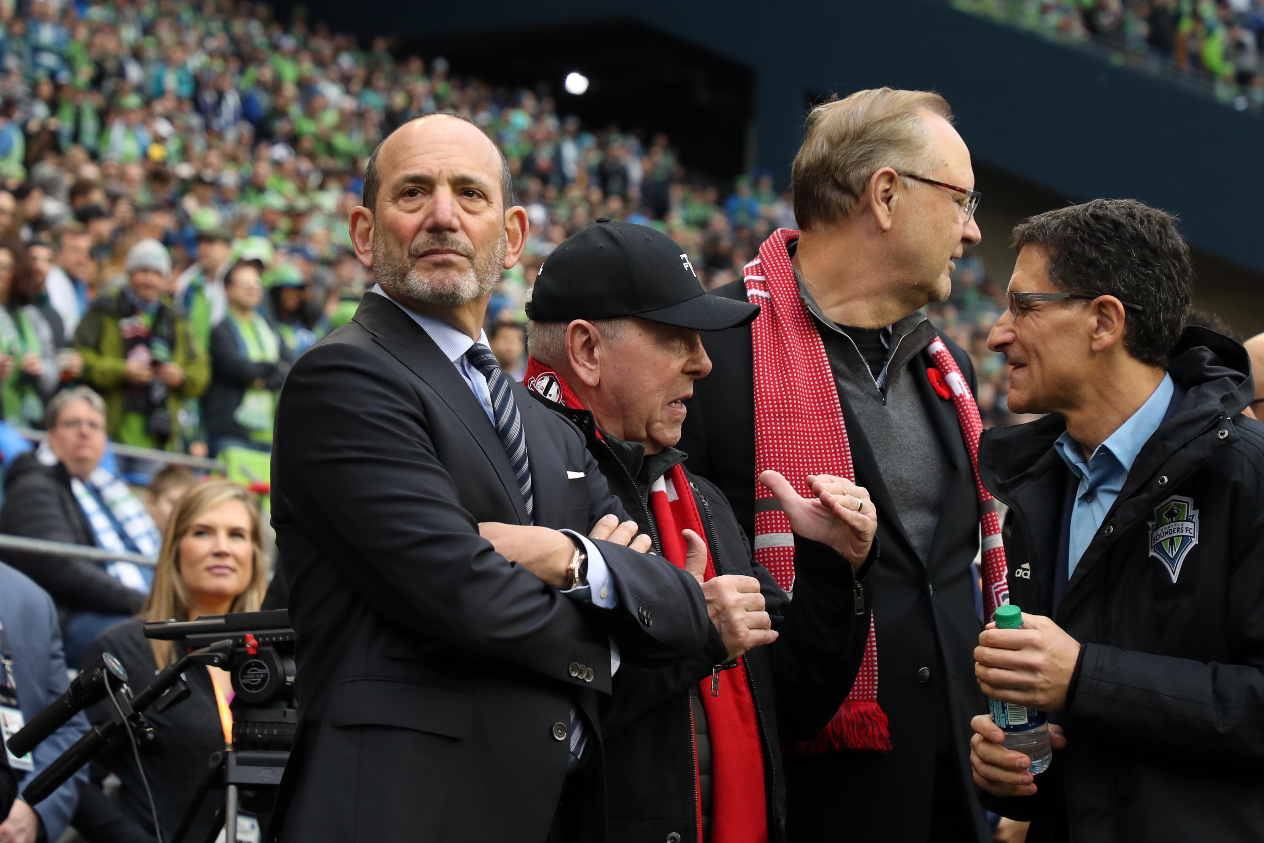 2019 MLS杯 - 多伦多FC对西雅图海湾