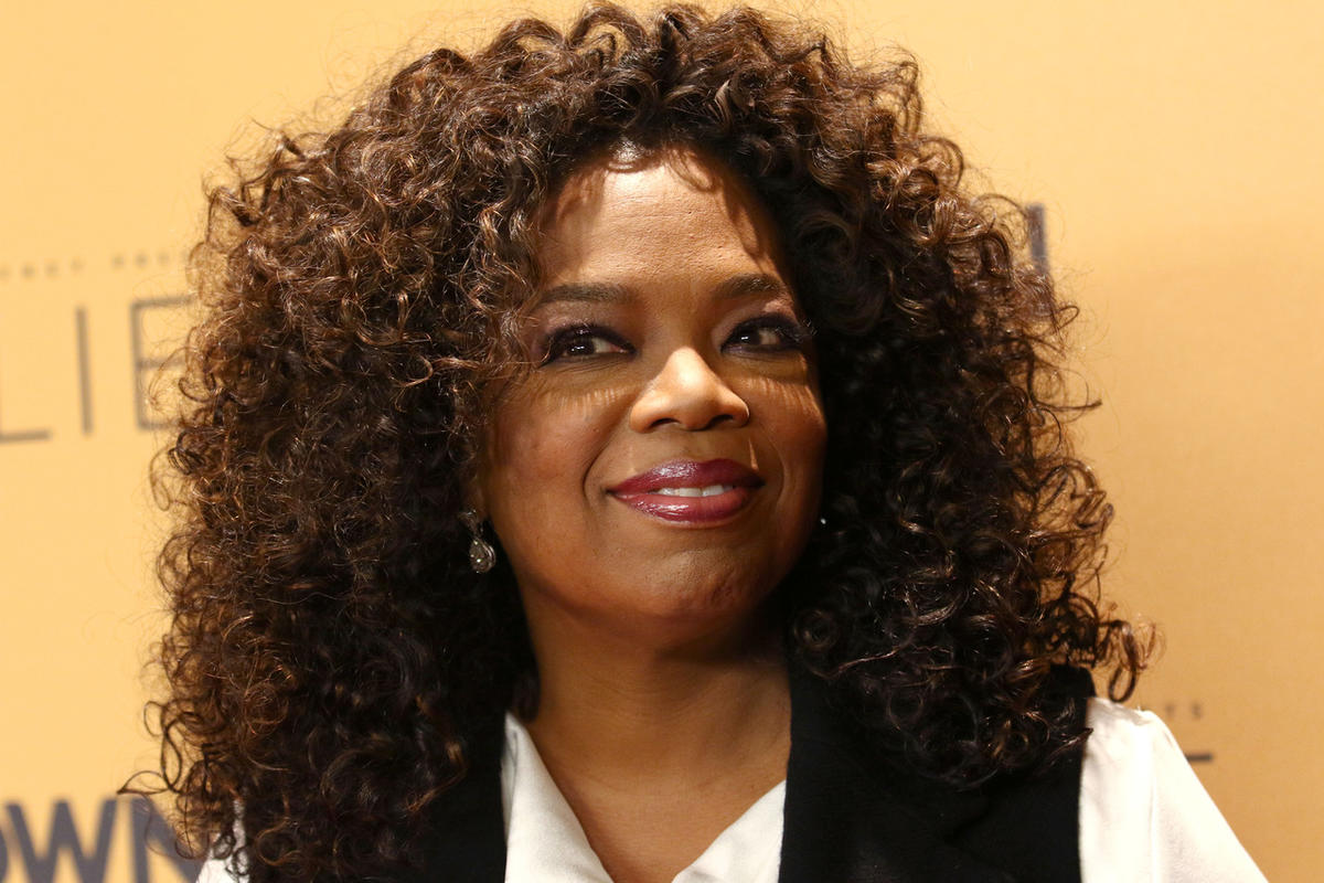 "FILE - In this Wednesday, Oct. 14, 2015, file photo, Oprah Winfrey attends the premiere of the Oprah Winfrey Network's (OWN) documentary series ""Belief,"" at The TimesCenter in New York. Weight Watchers announced Monday, Oct. 19, 2015, that Winfrey is taki"