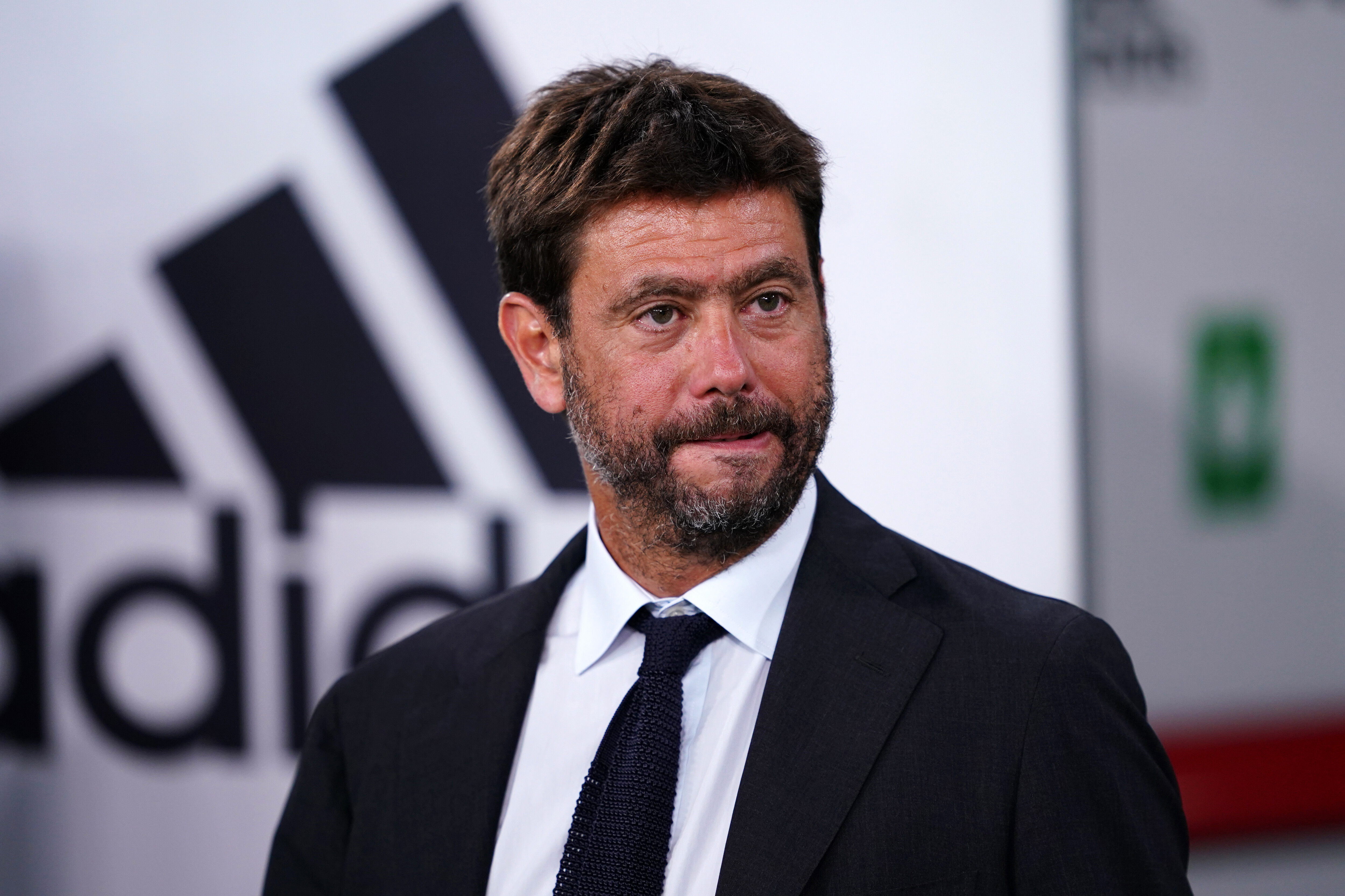 Juventus FC President Andrea Agnelli during the Serie A...