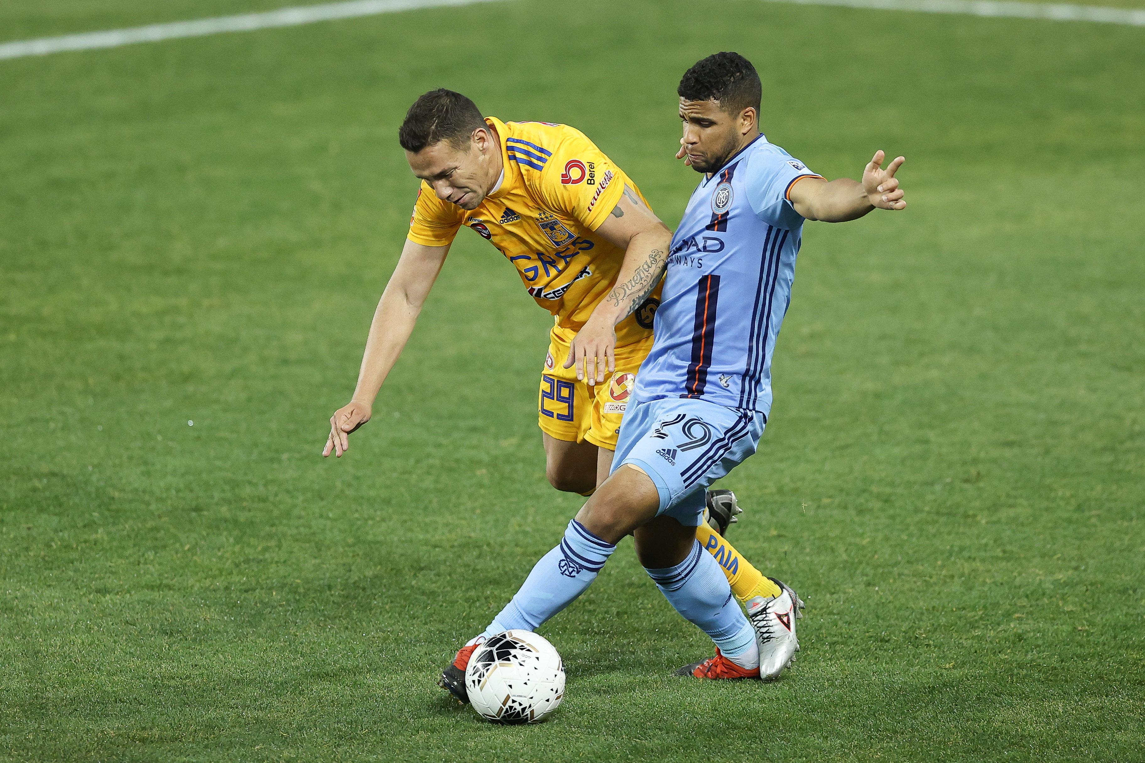 MLS: Champions League Quarterfinal-Club Tigres at New York City FC
