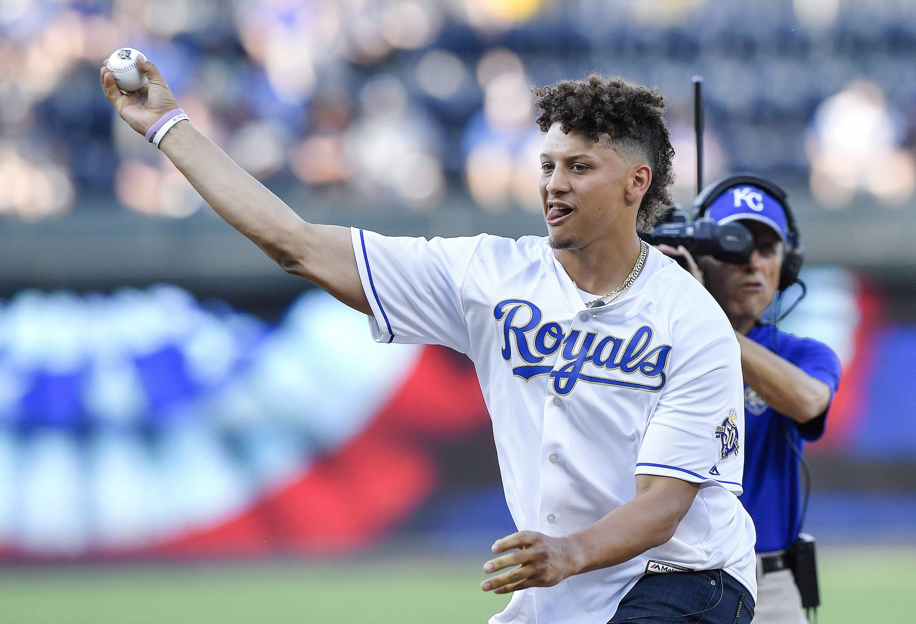 Mahomes Mania in Kansas City reaches another tier as he joins Royals ownership group