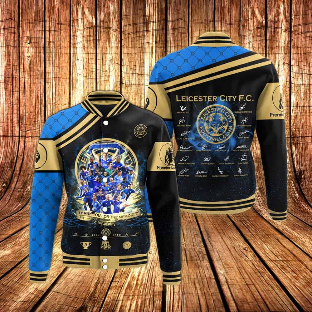 Leicester City 2019-2020 club jacket.