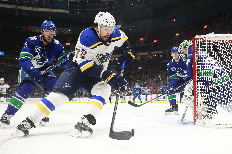 St Louis Blues v Vancouver Canucks