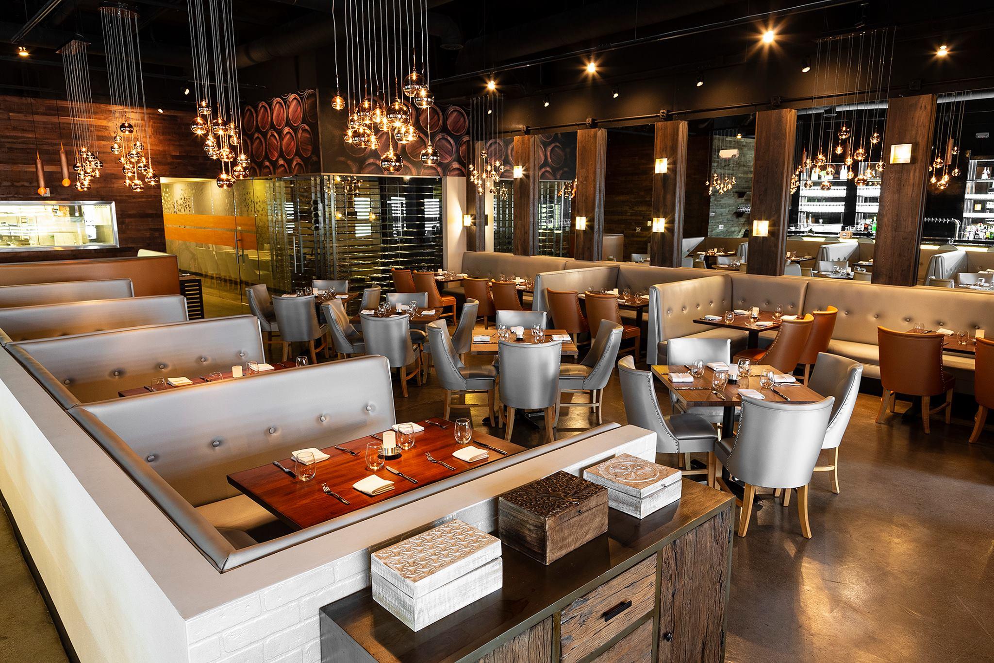 The interior of a restaurant