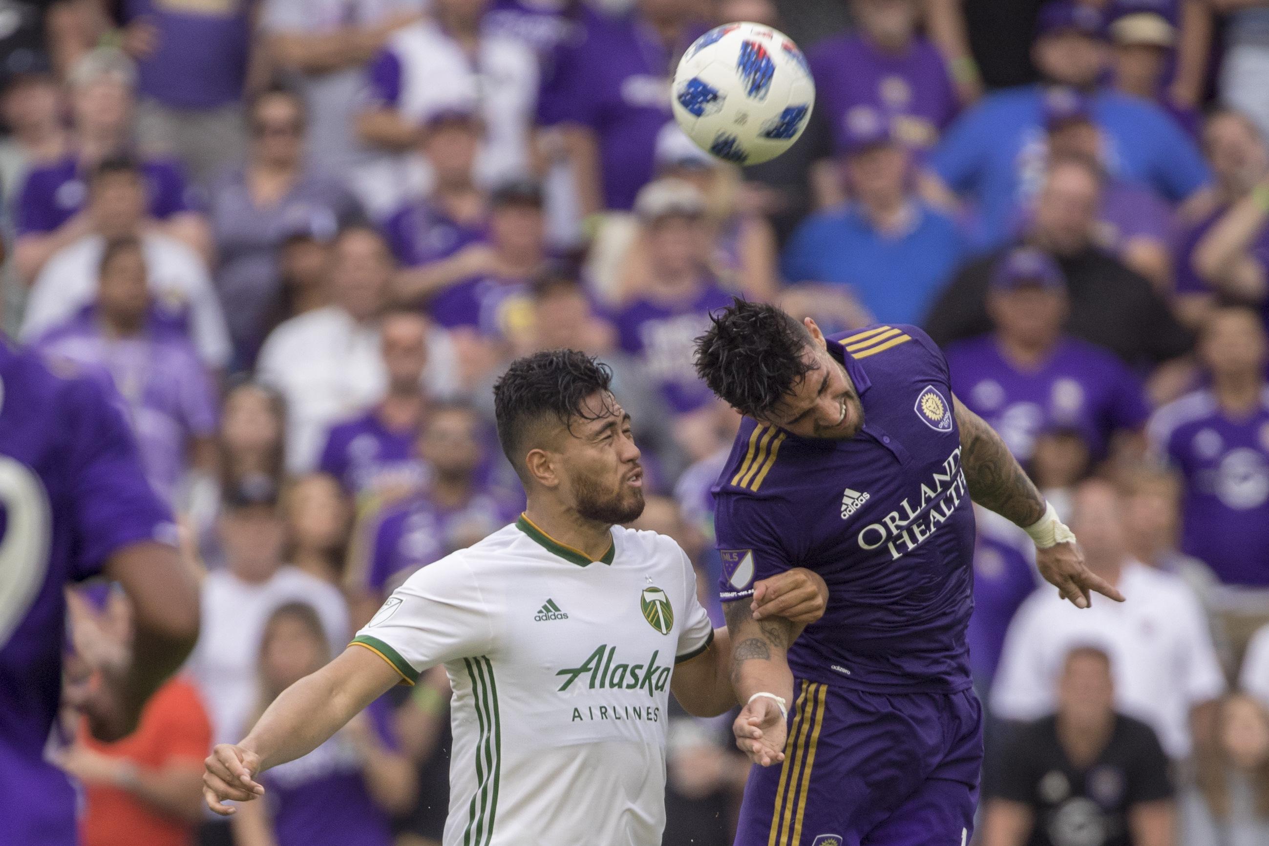 SOCCER: APR 08 MLS - Portland Timbers at Orlando City SC