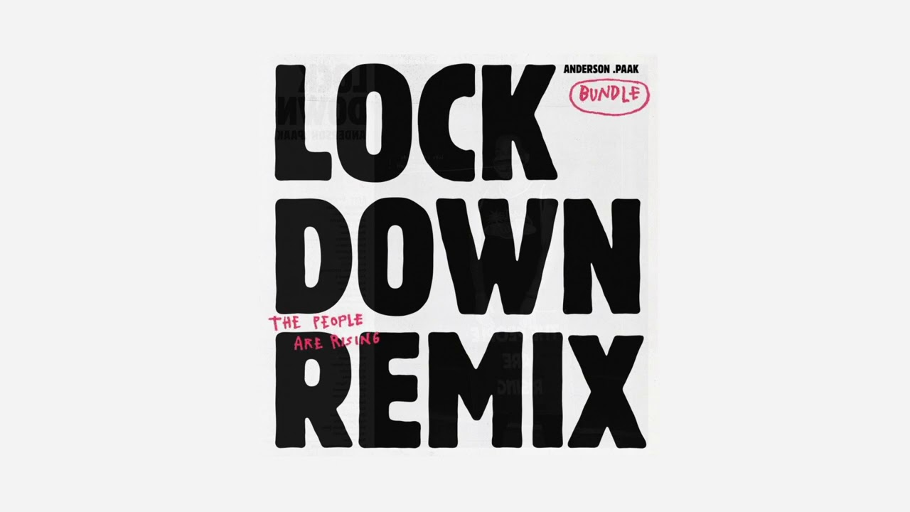 "Anderson .Paak ""Lockdown (Remix)"""