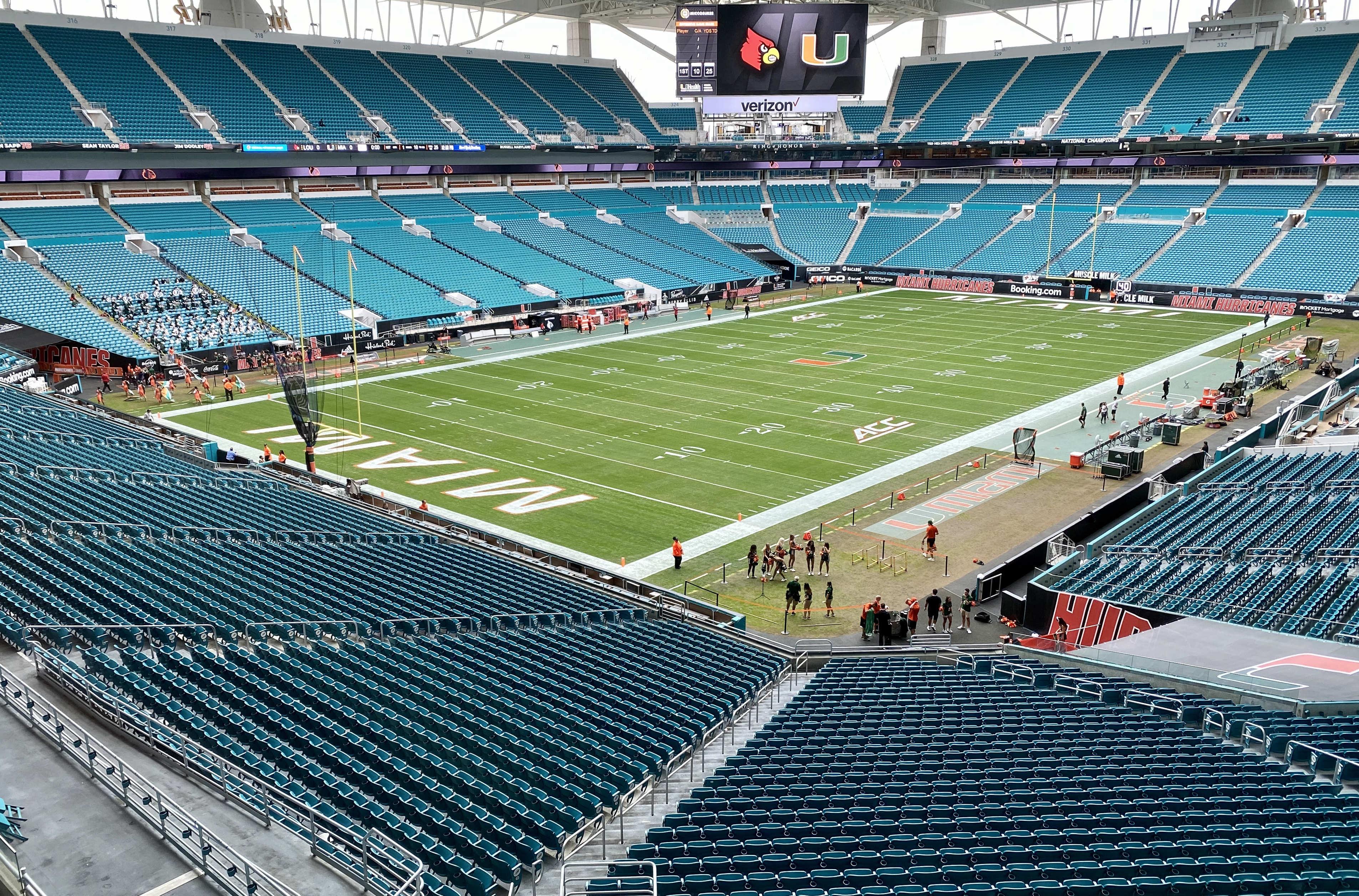 NCAA Football: Louisville at Miami