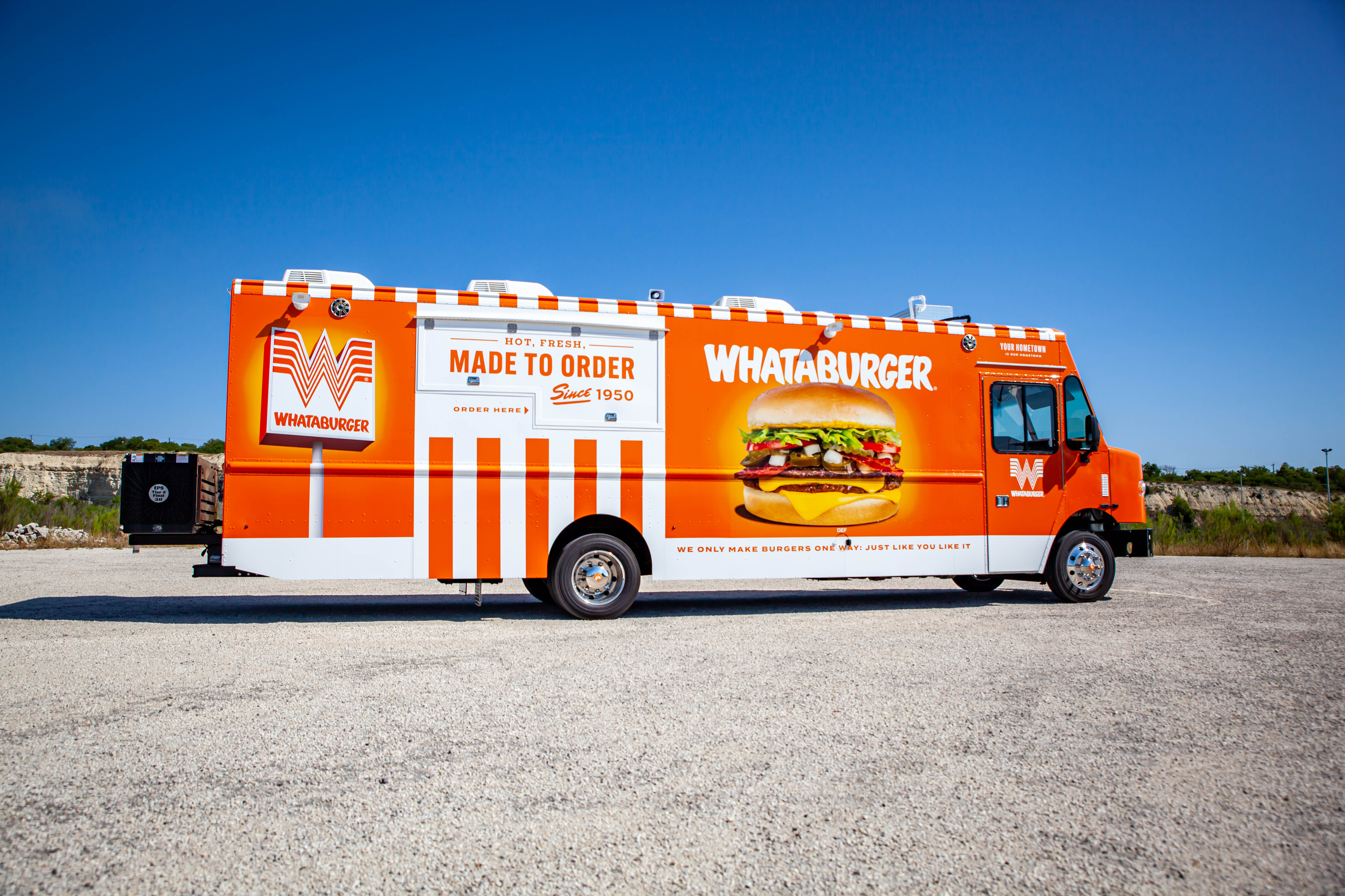 Whataburger's new food truck