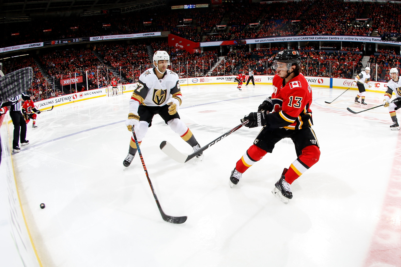 Vegas Golden Knights v Calgary Flames