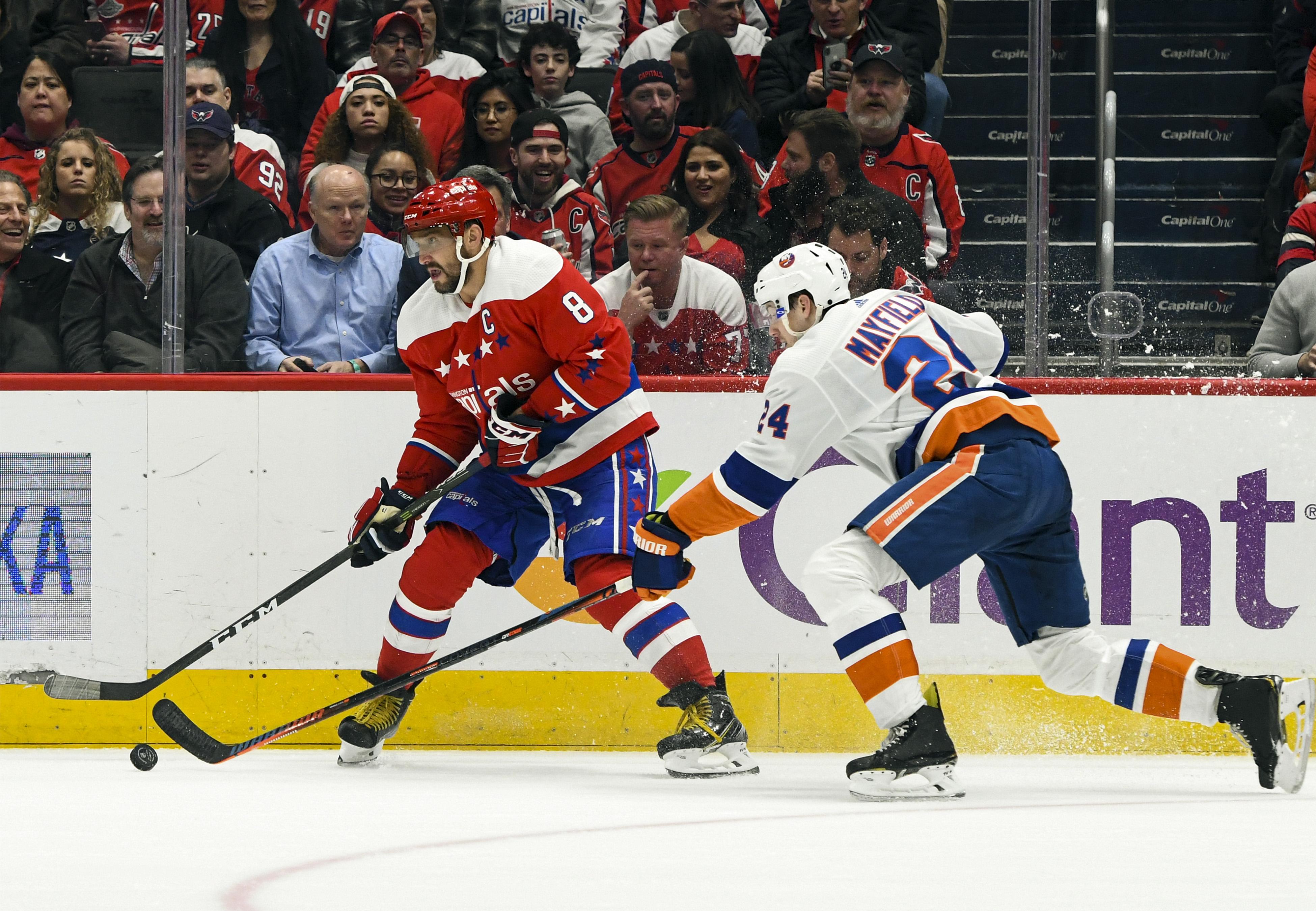 NHL: FEB 10 Islanders at Capitals