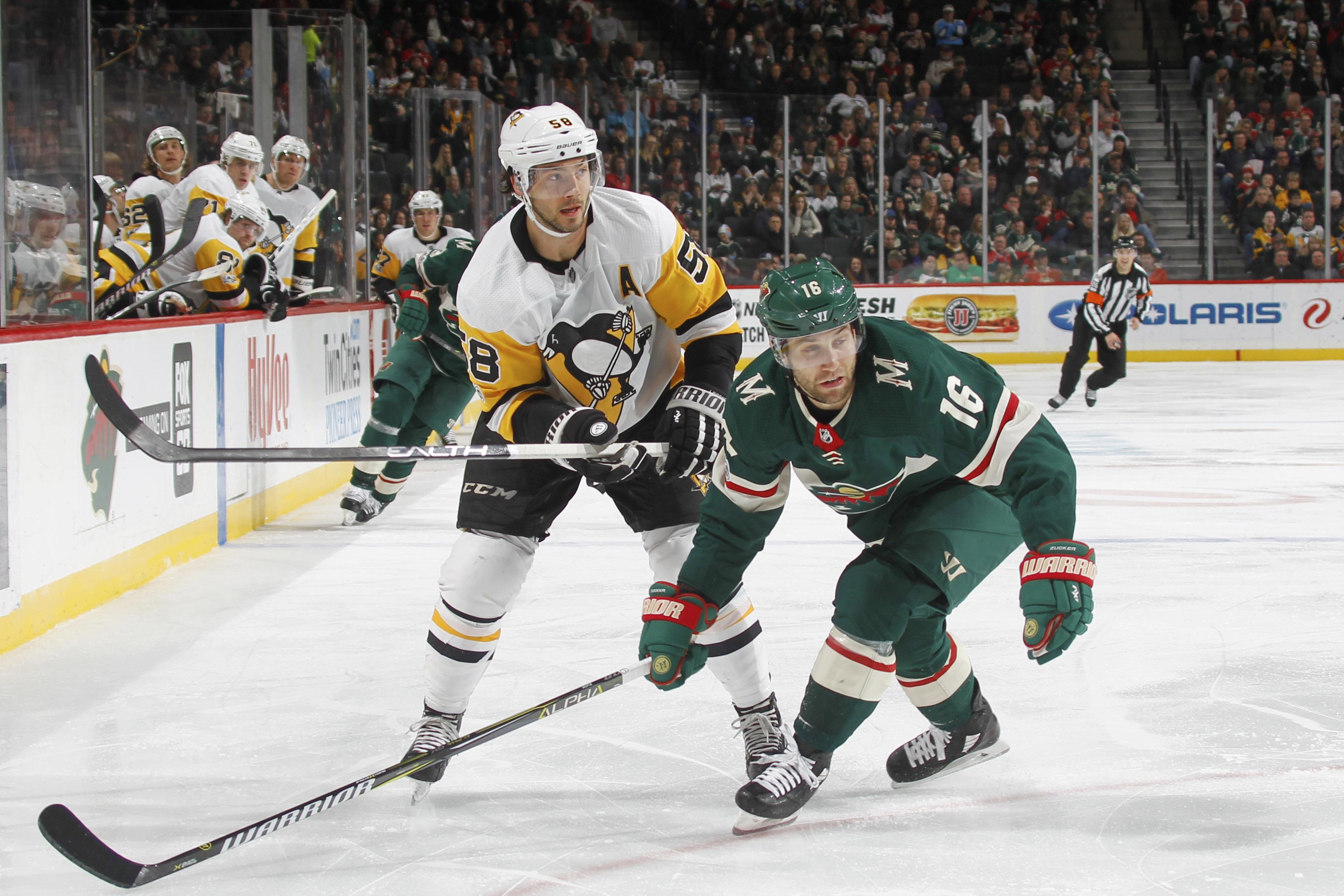 Pittsburgh Penguins v Minnesota Wild