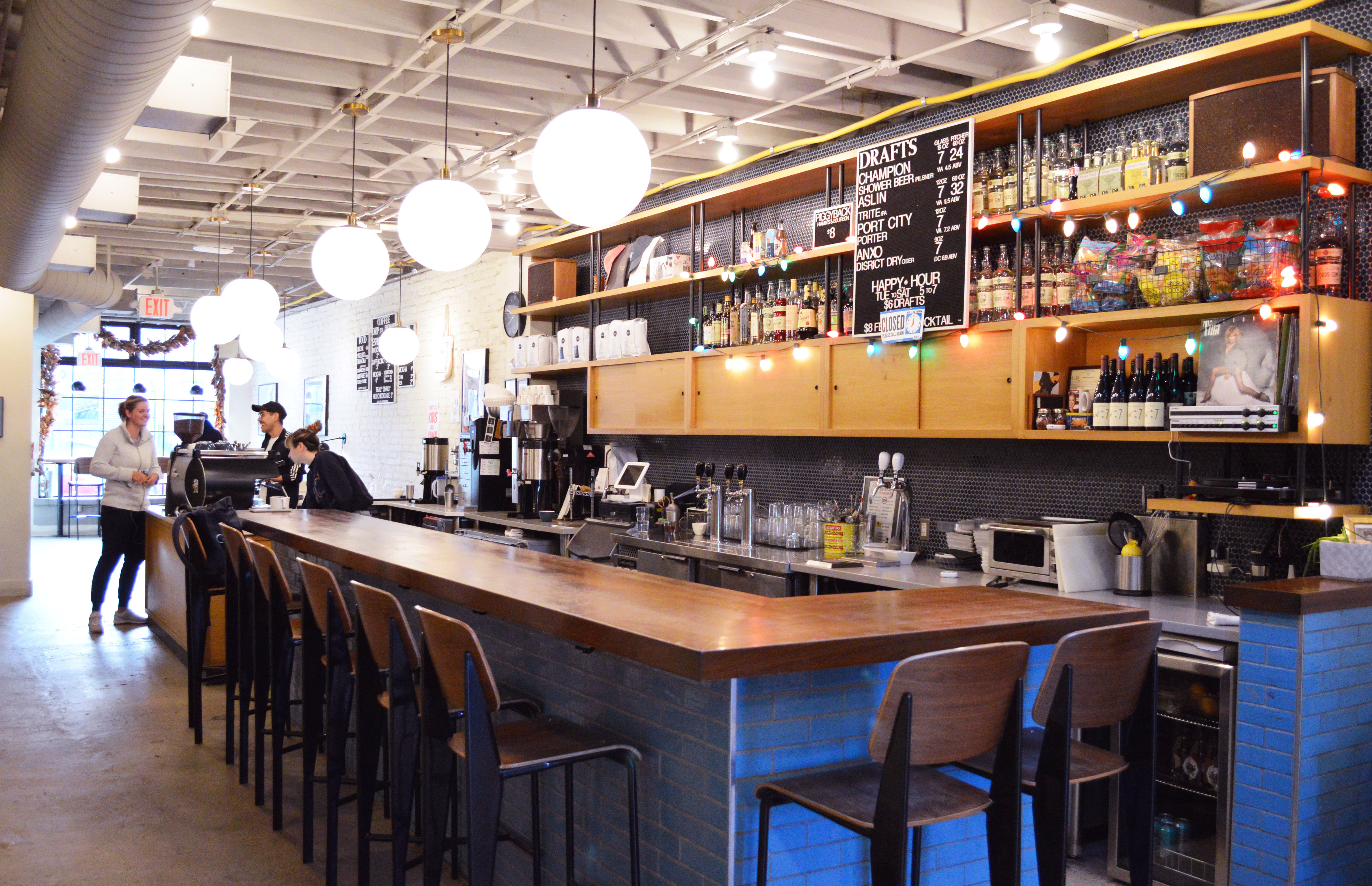 The owners of the all-day cafe that used to be called Colony Club plan to implement some design changes to reflect its new name, Doubles.