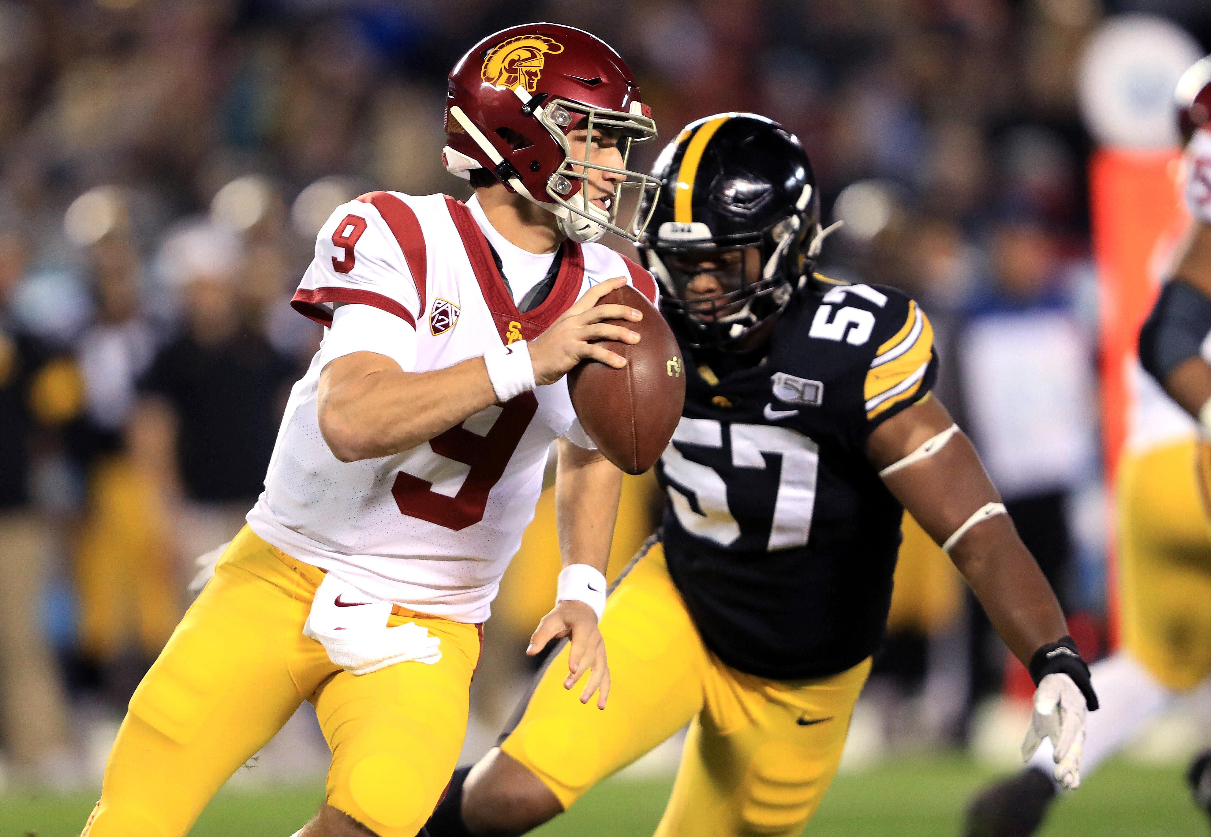 San Diego County Credit Union Holiday Bowl - USC v Iowa