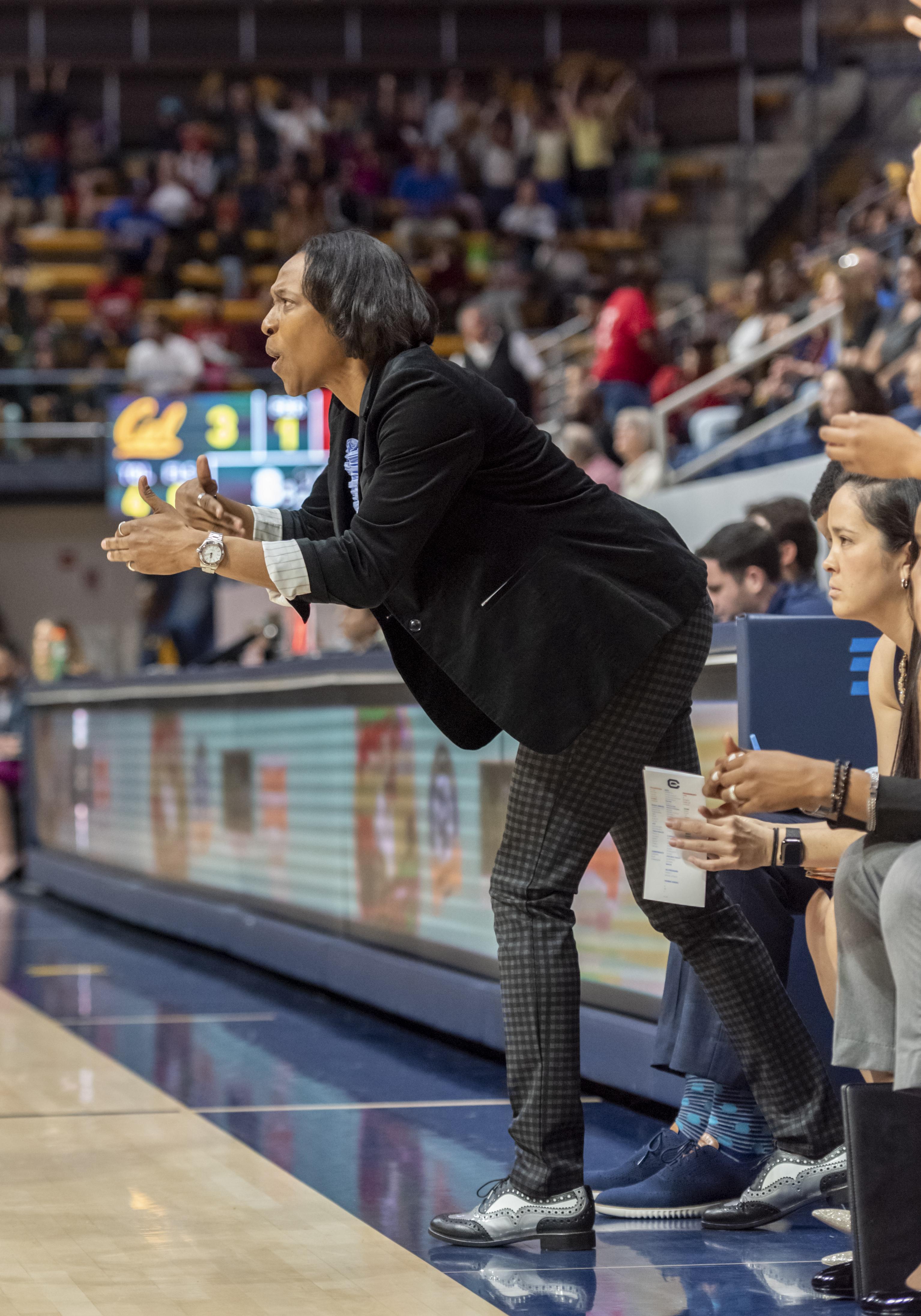 COLLEGE BASKETBALL: JAN 24 Women's Utah at Cal