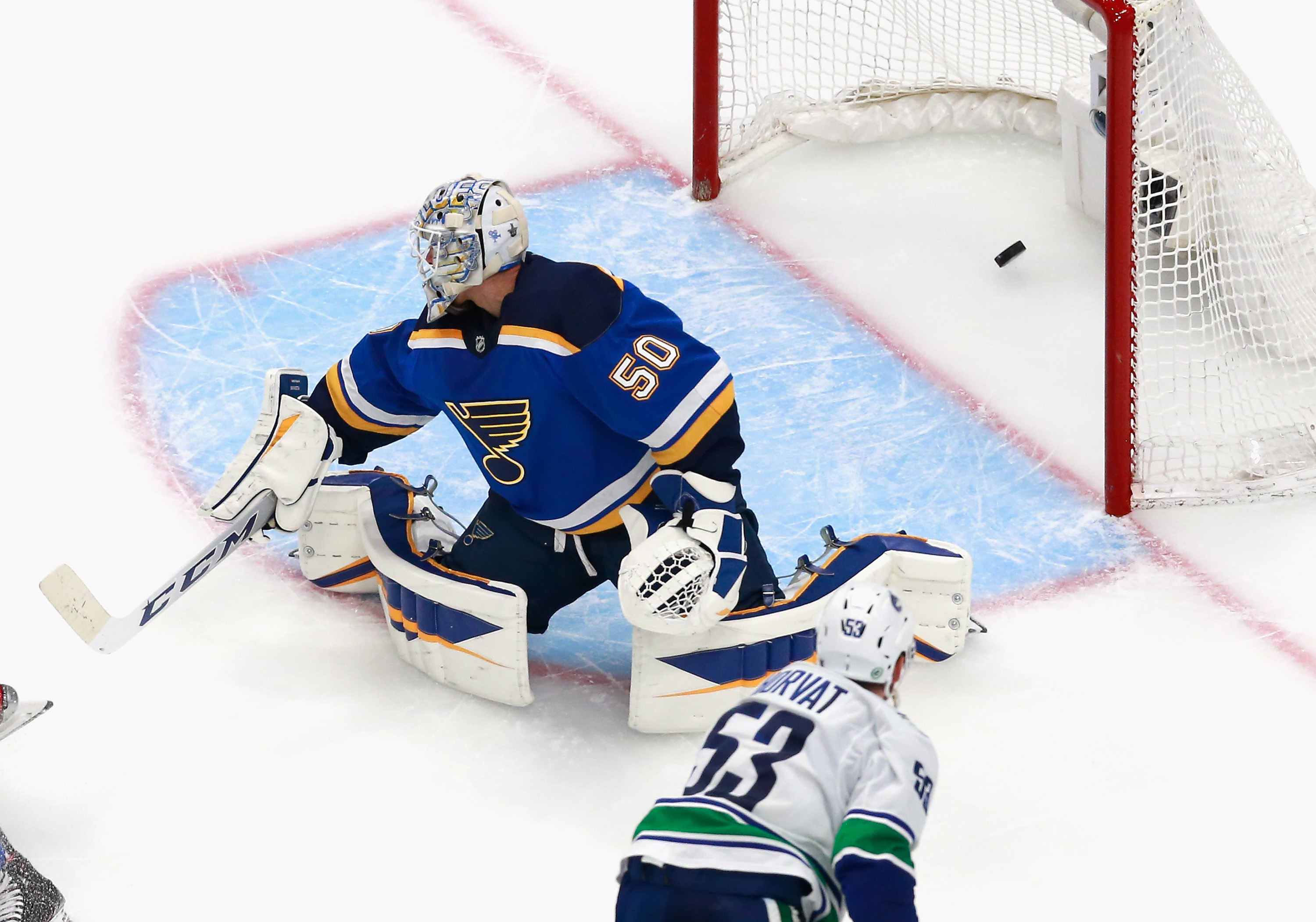Vancouver Canucks v St Louis Blues - Game One